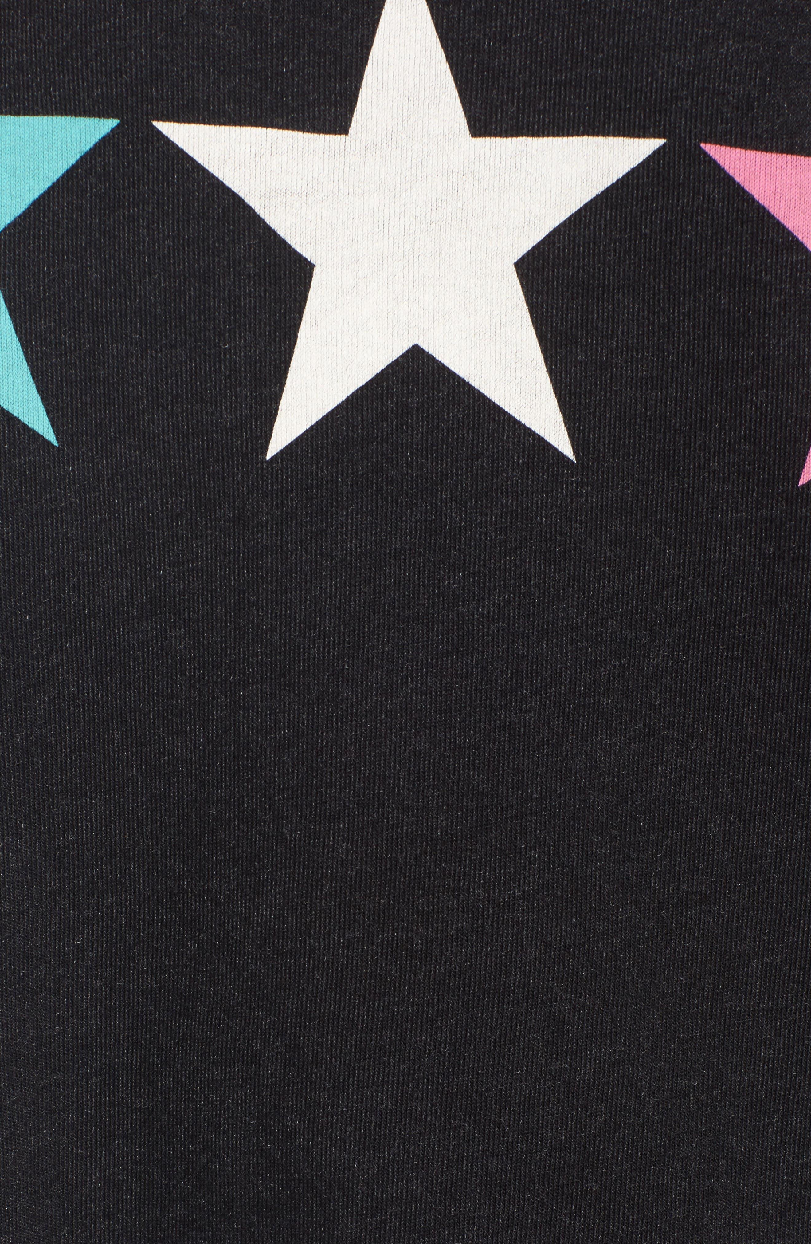 Arcade Stars Sommers Sweatshirt,                             Alternate thumbnail 6, color,                             Heathered Black