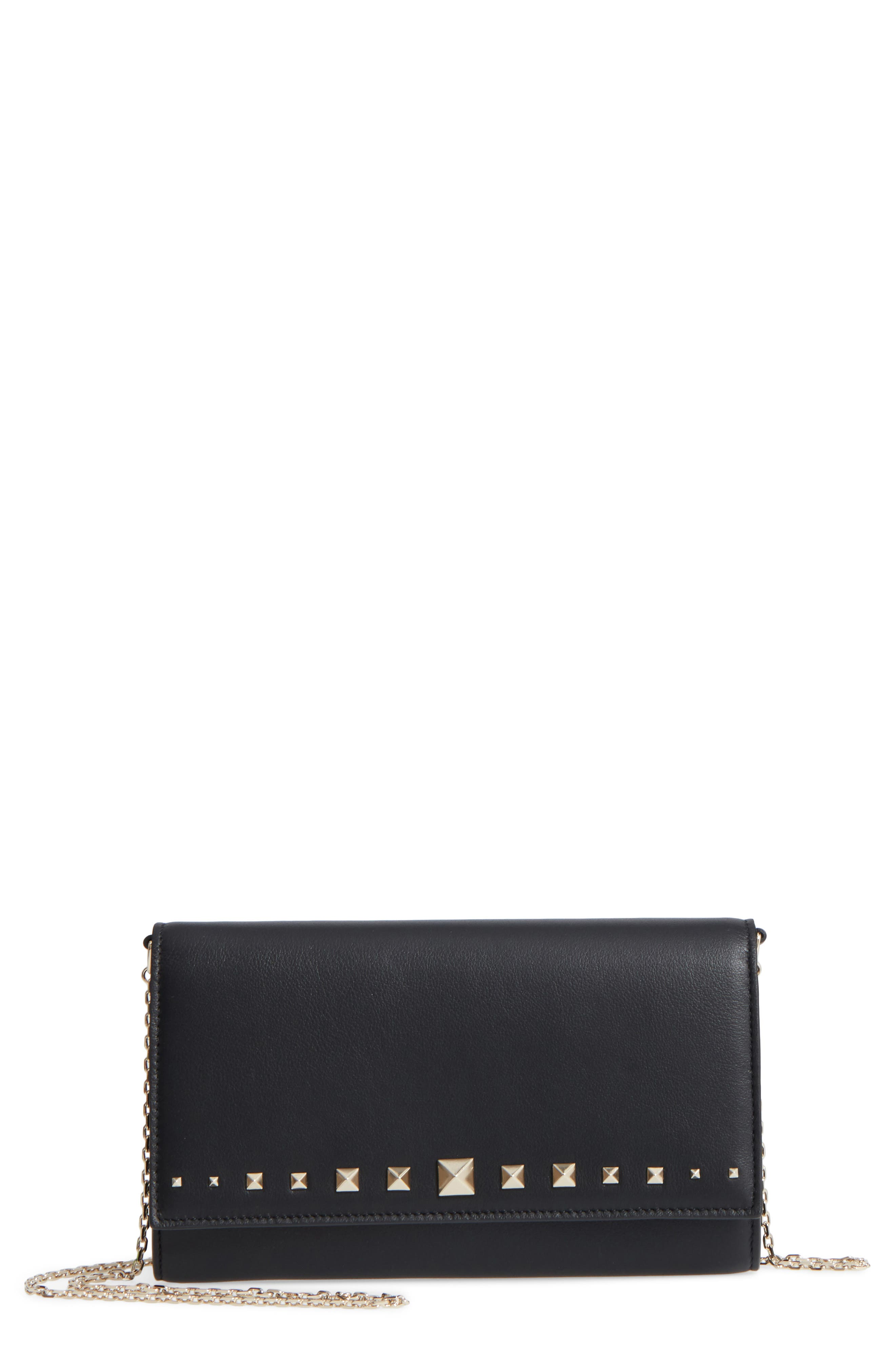 VALENTINO GARAVANI Lovestud Wallet on a Chain