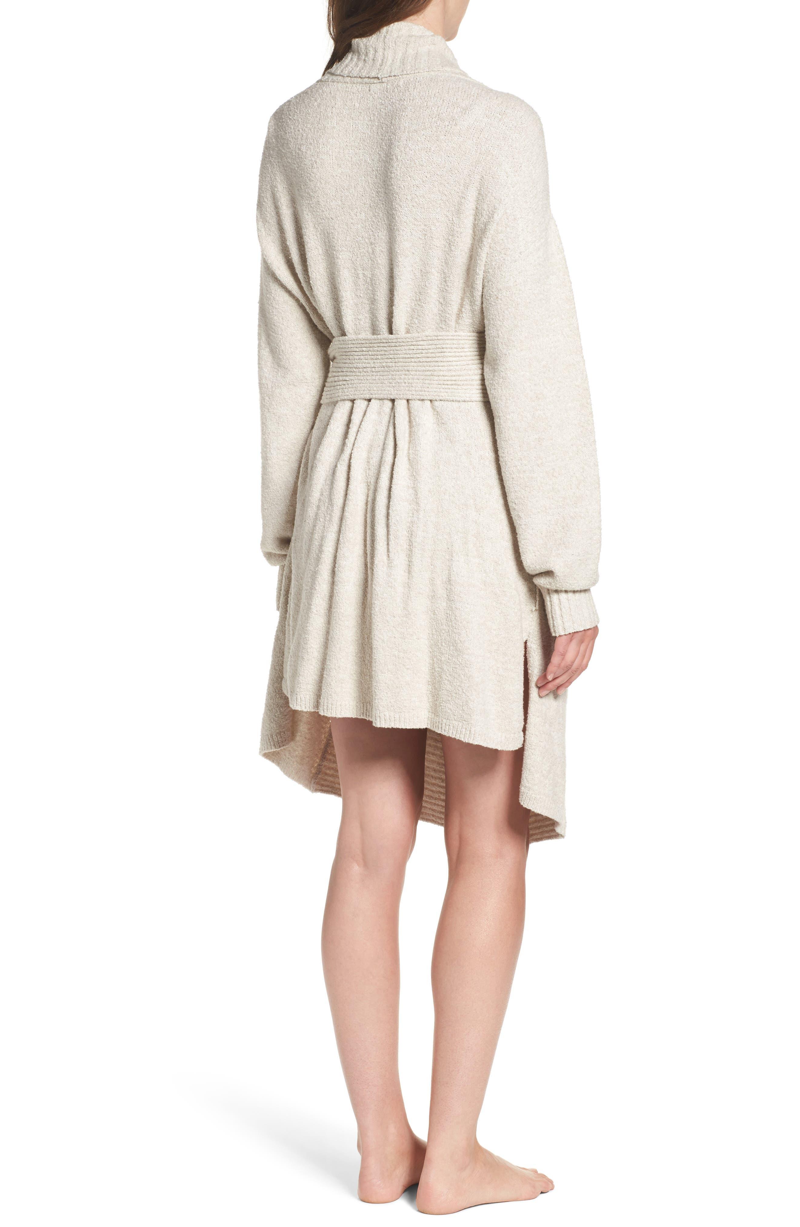 Alternate Image 2  - skin Britta Plush Robe