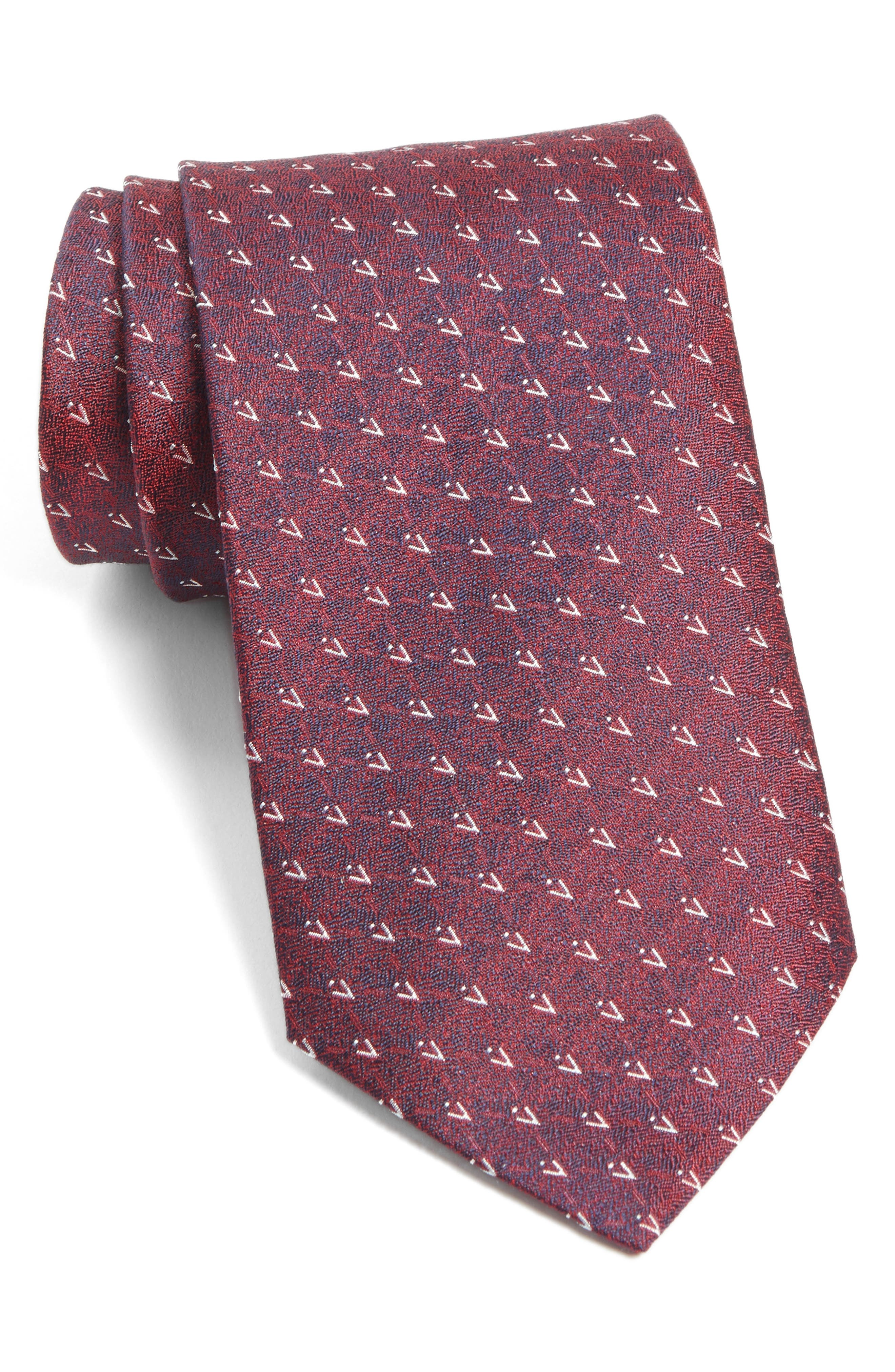 Main Image - John Varvatos Star USA Geometric Silk Tie
