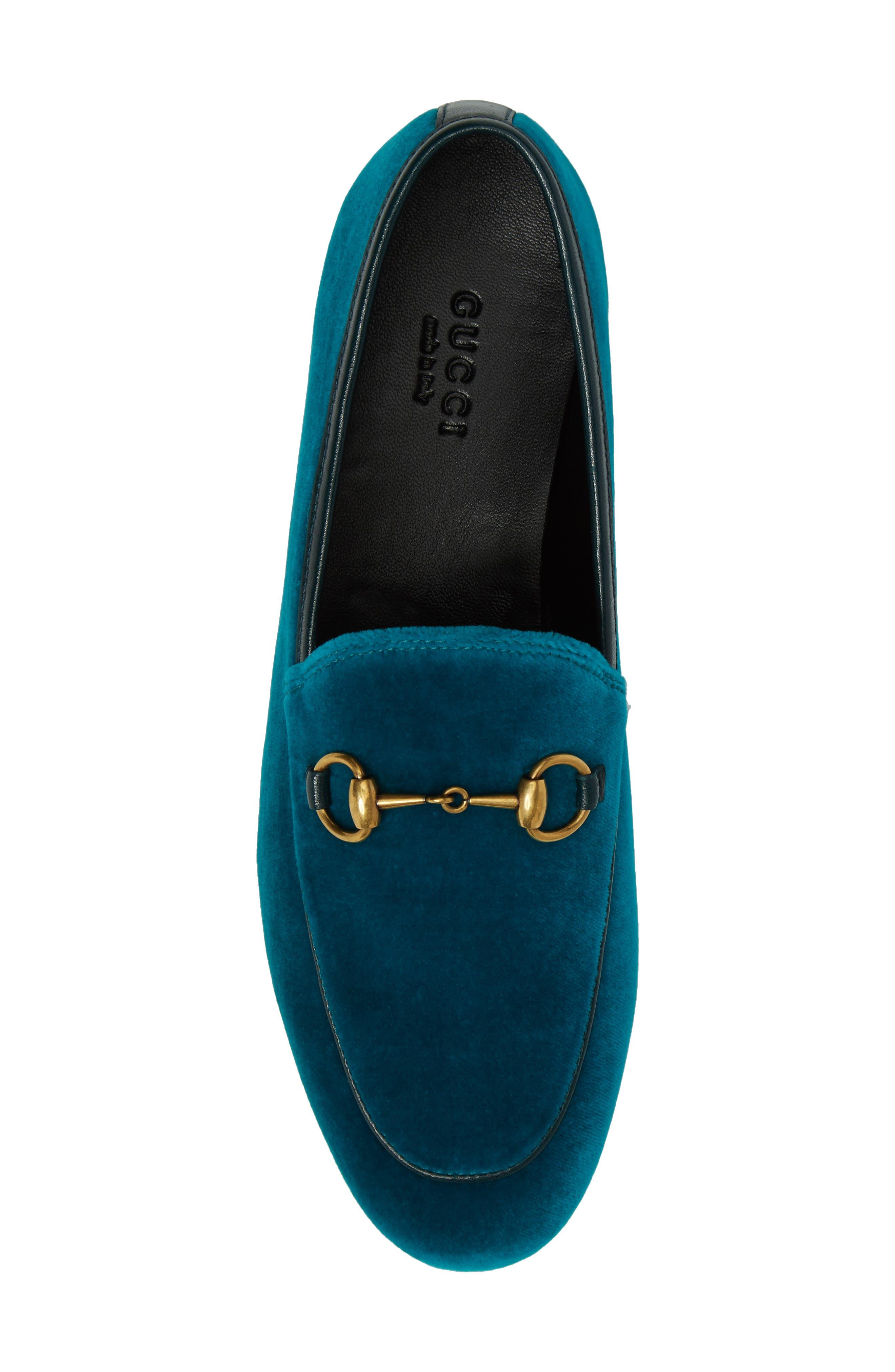 Brixton Velvet Loafer,                             Alternate thumbnail 5, color,                             Blue Velvet
