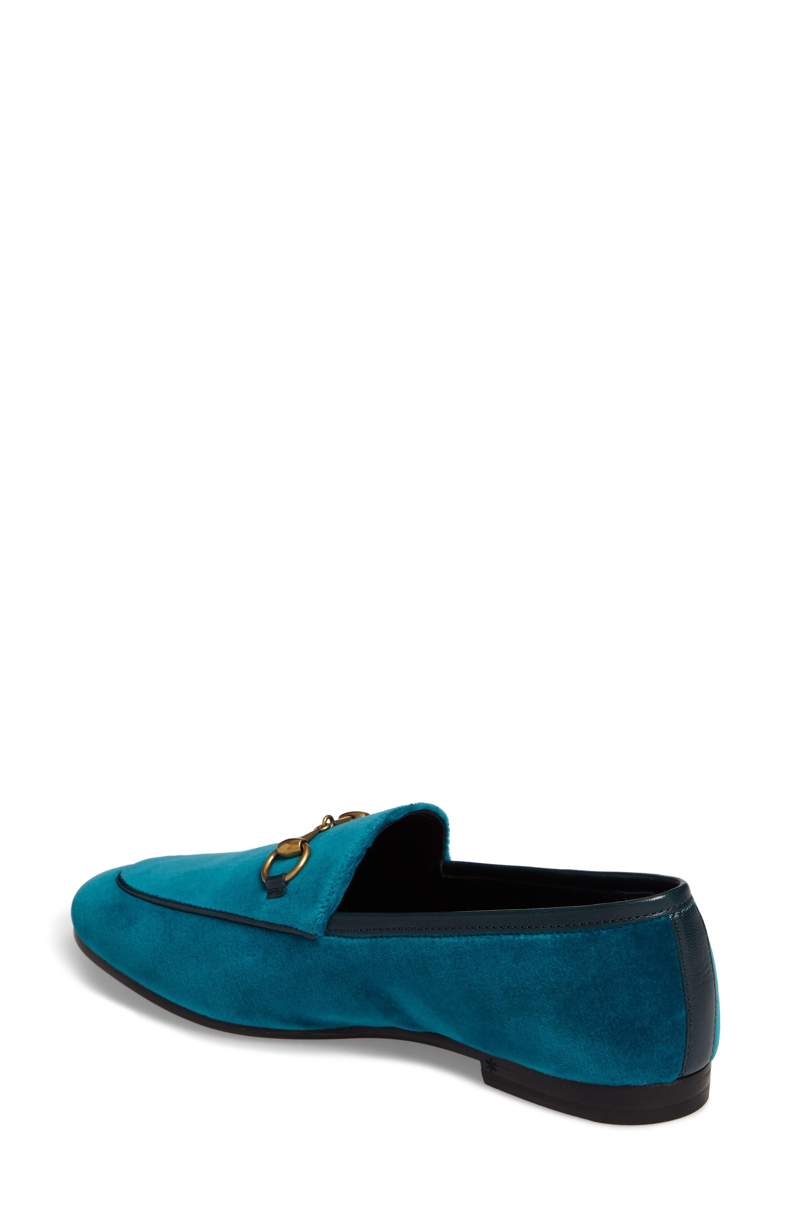 Brixton Velvet Loafer,                             Alternate thumbnail 2, color,                             Blue Velvet