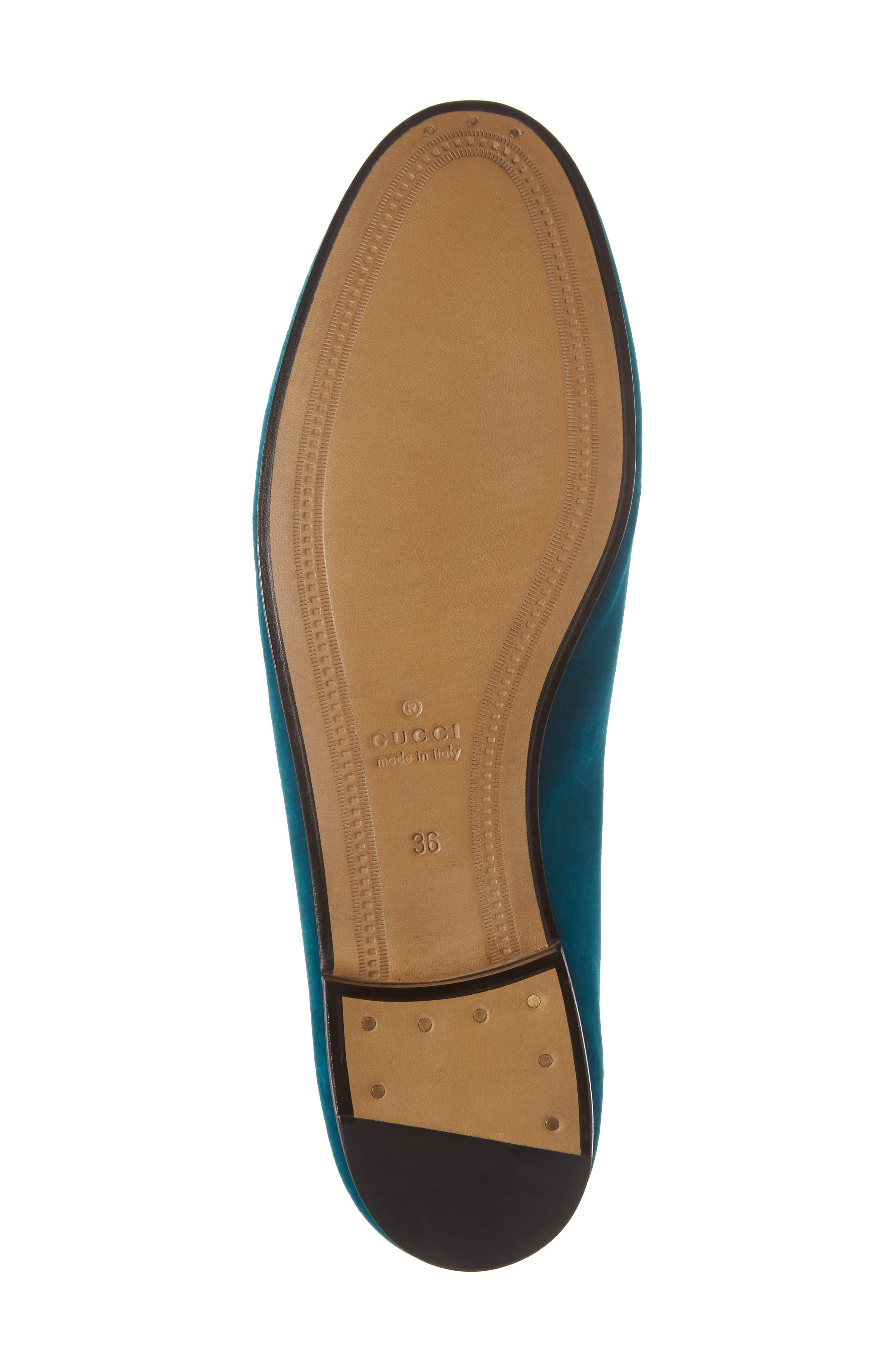Brixton Velvet Loafer,                             Alternate thumbnail 6, color,                             Blue Velvet