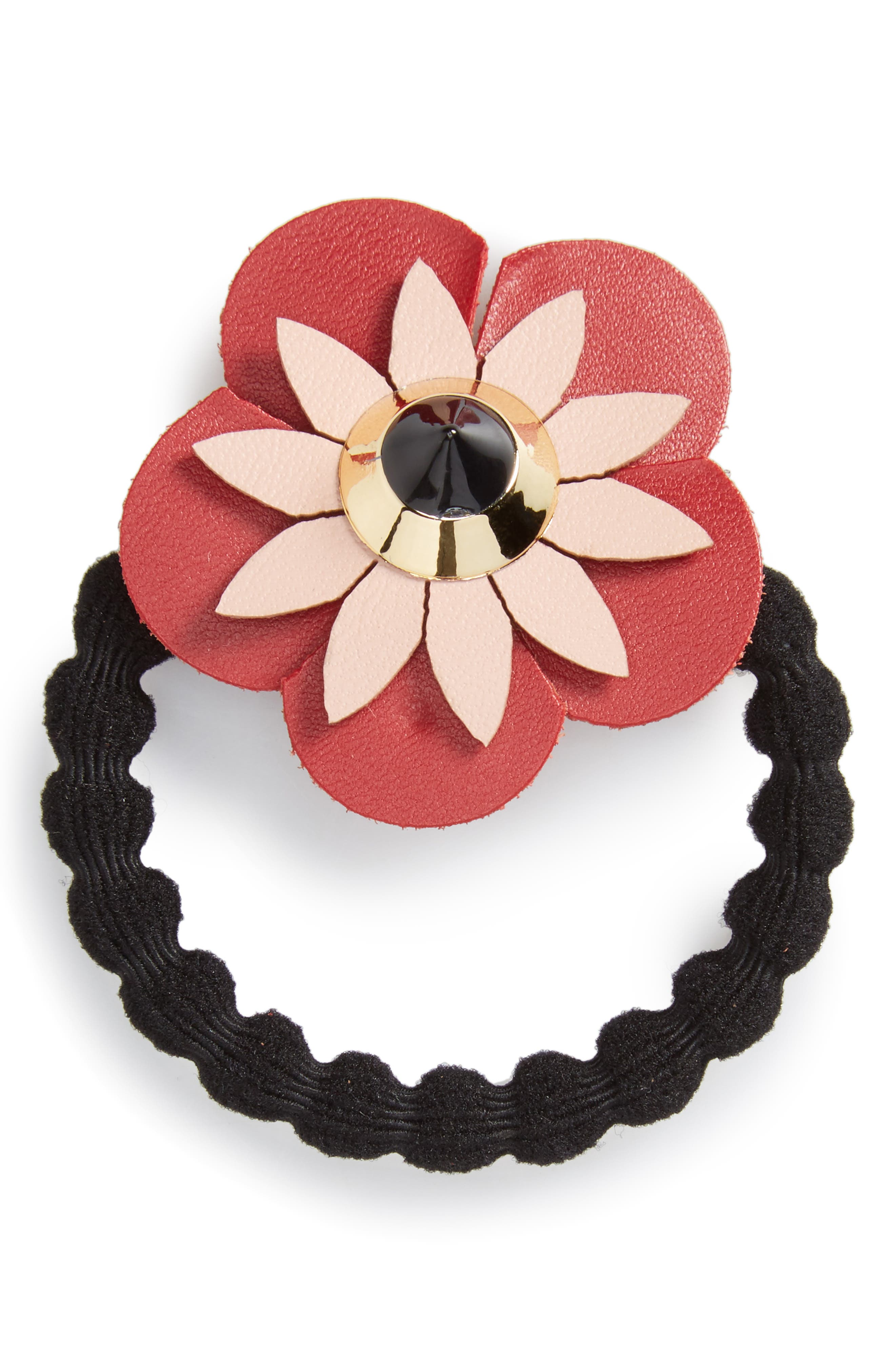Cara Flower Ponytail Holder
