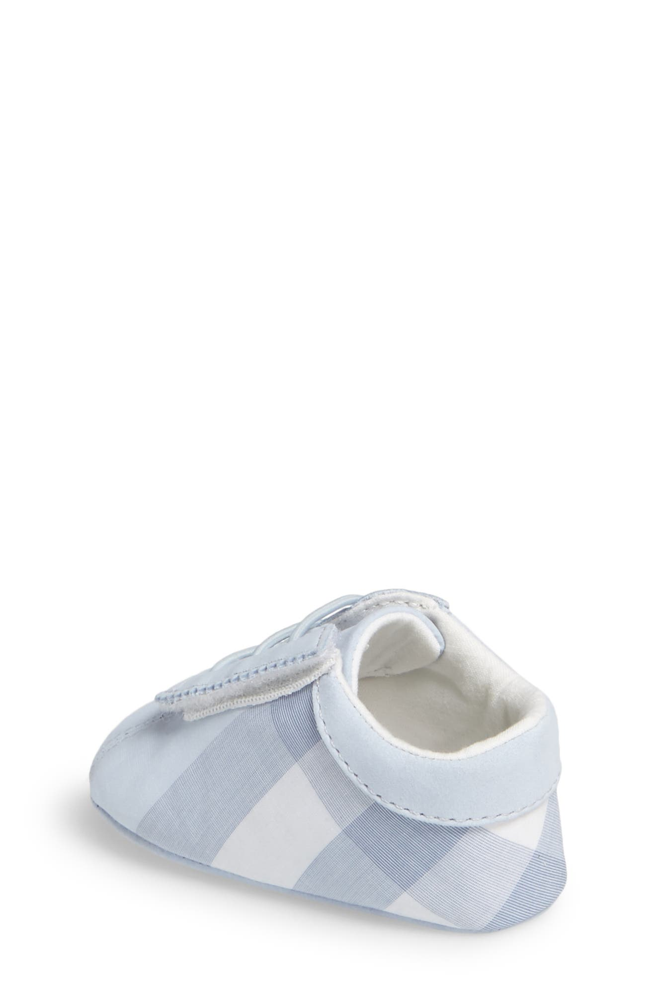 'Bosco' Crib Shoe,                             Alternate thumbnail 2, color,                             Ice Blue