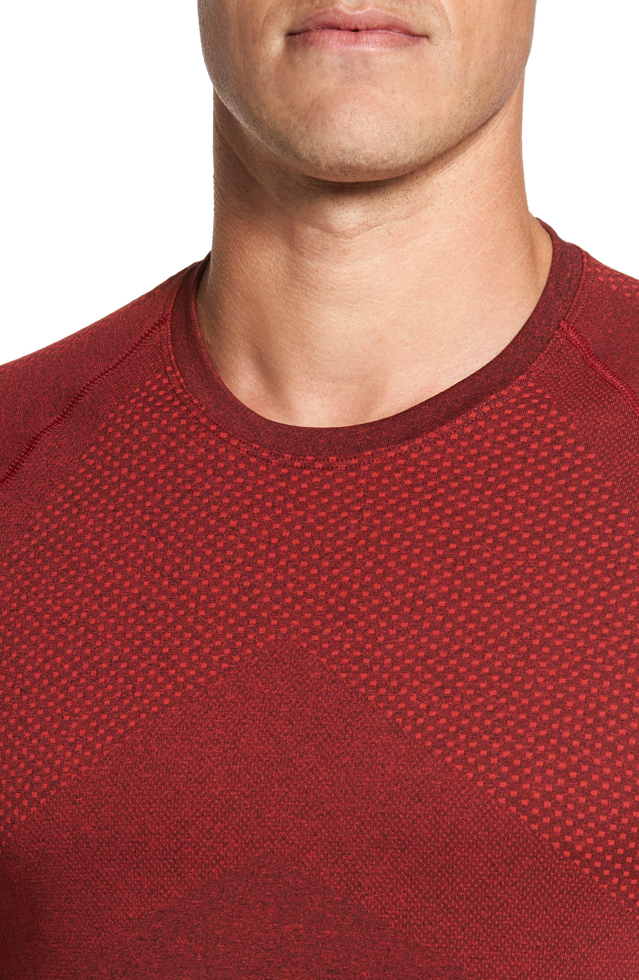 Alternate Image 4  - Zella Zeolite Long Sleeve Performance T-Shirt