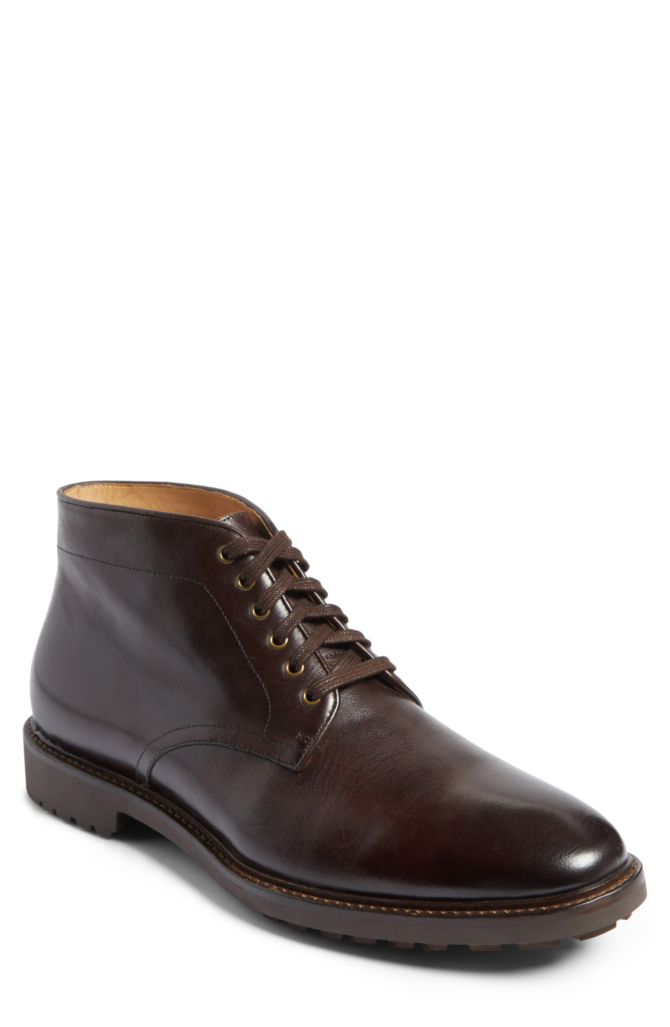 John W. Nordstrom® Ramiro Plain Toe Boot (Men)