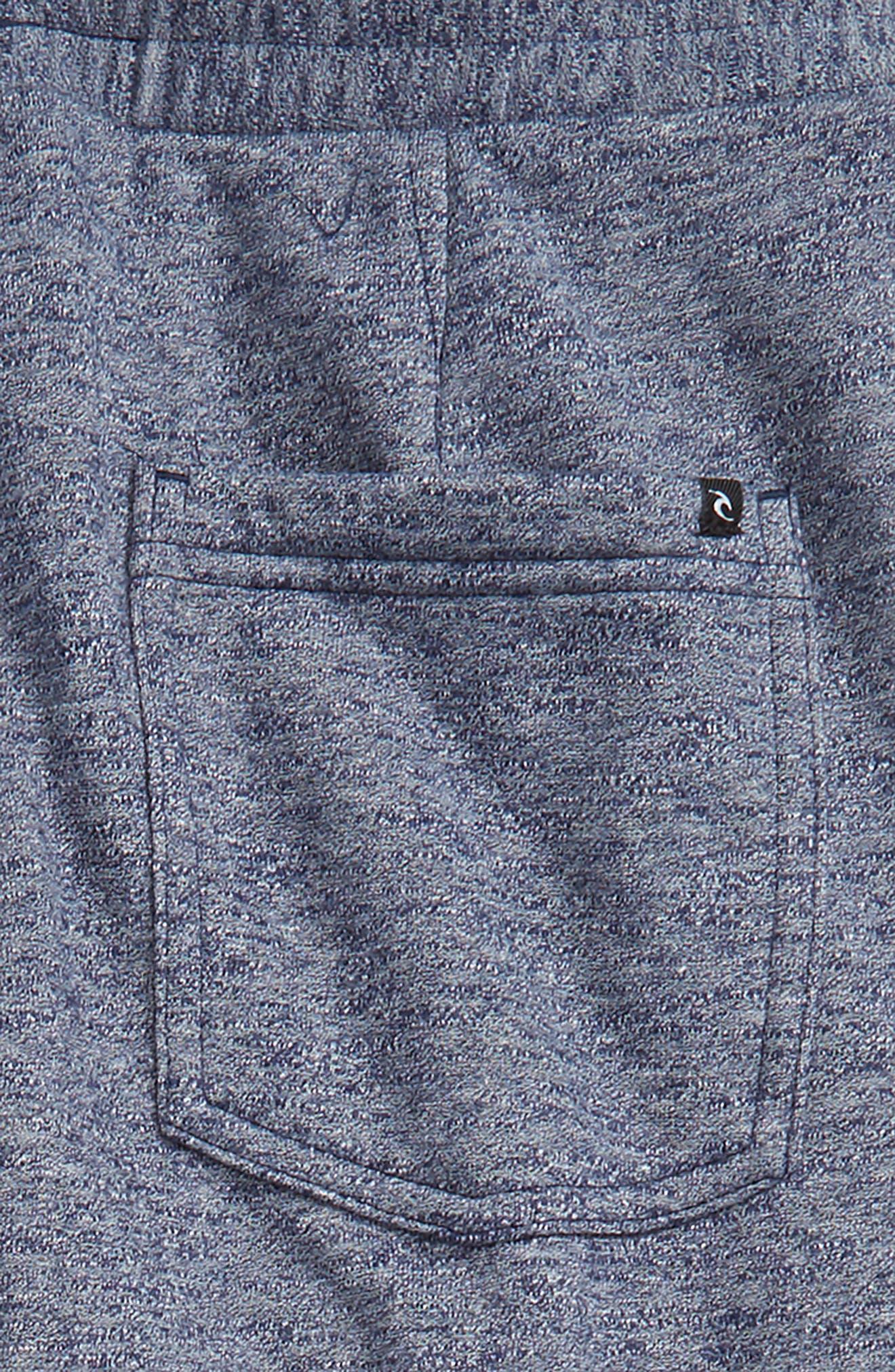 Destination Fleece Sweatpants,                             Alternate thumbnail 3, color,                             Navy