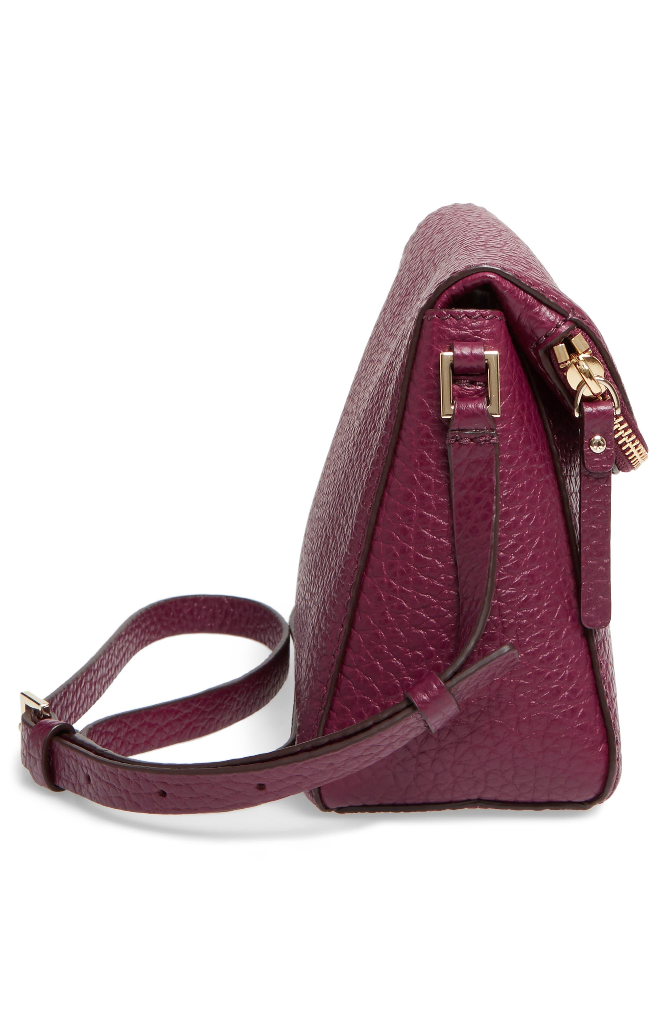 Alternate Image 3  - kate spade new york carter street - berrin leather crossbody bag