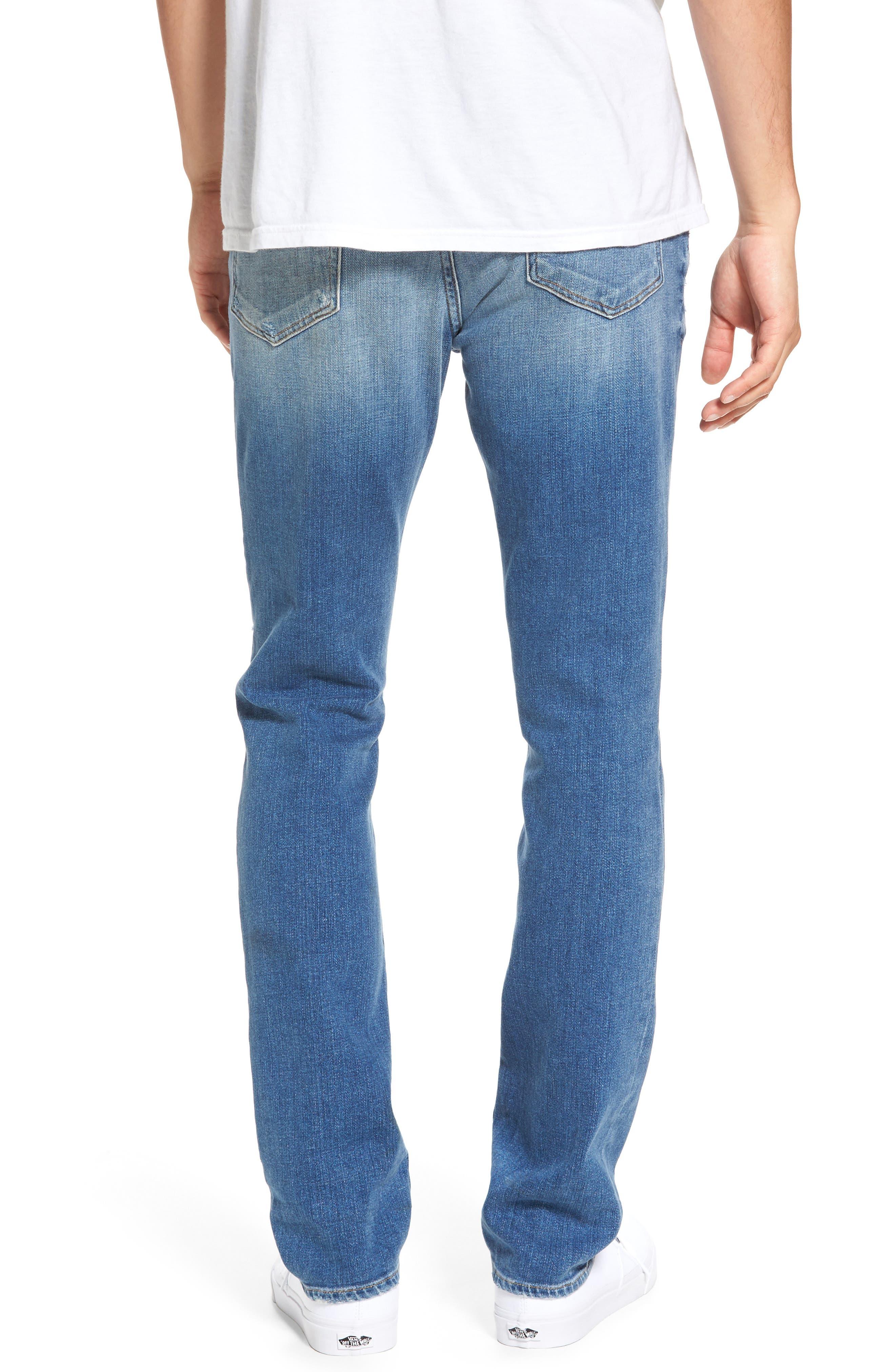 Alternate Image 2  - FRAME L'Homme Skinny Jeans (Frazier)