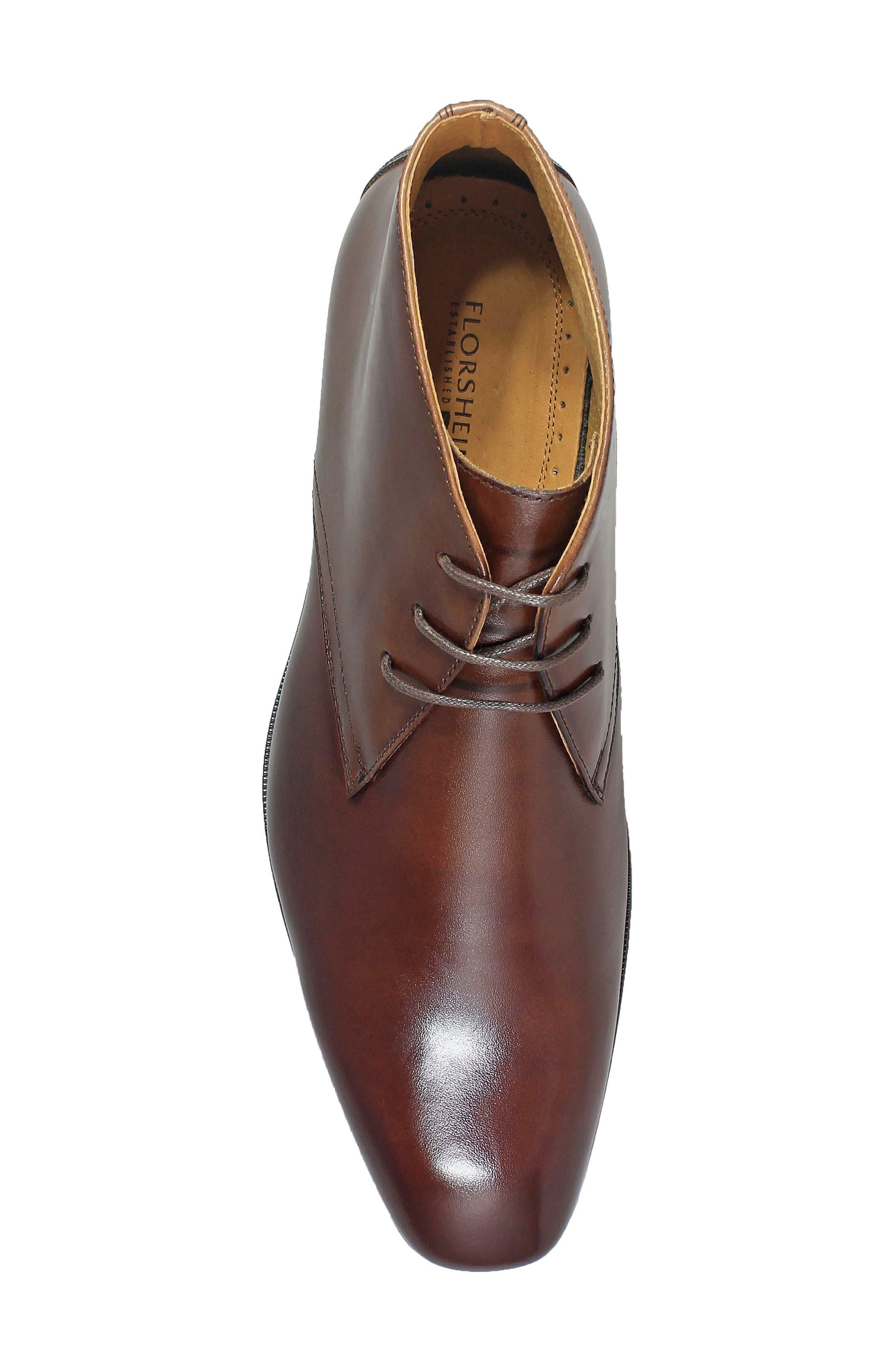 Corbetta Chukka Boot,                             Alternate thumbnail 5, color,                             Cognac Leather