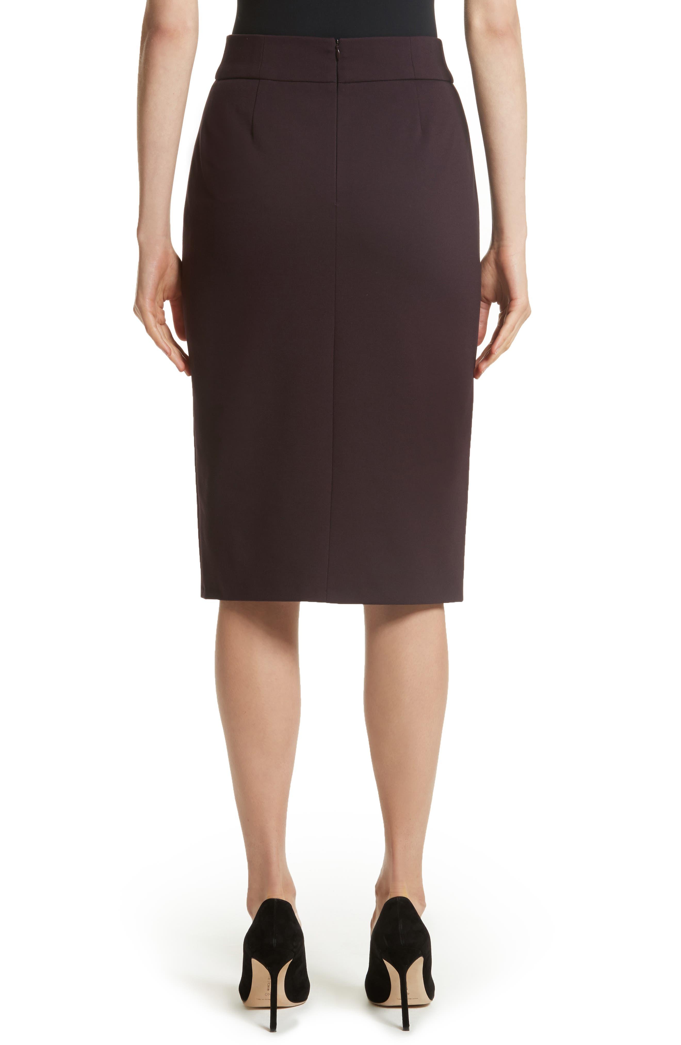 Alternate Image 2  - Akris punto Gabardine Pencil Skirt