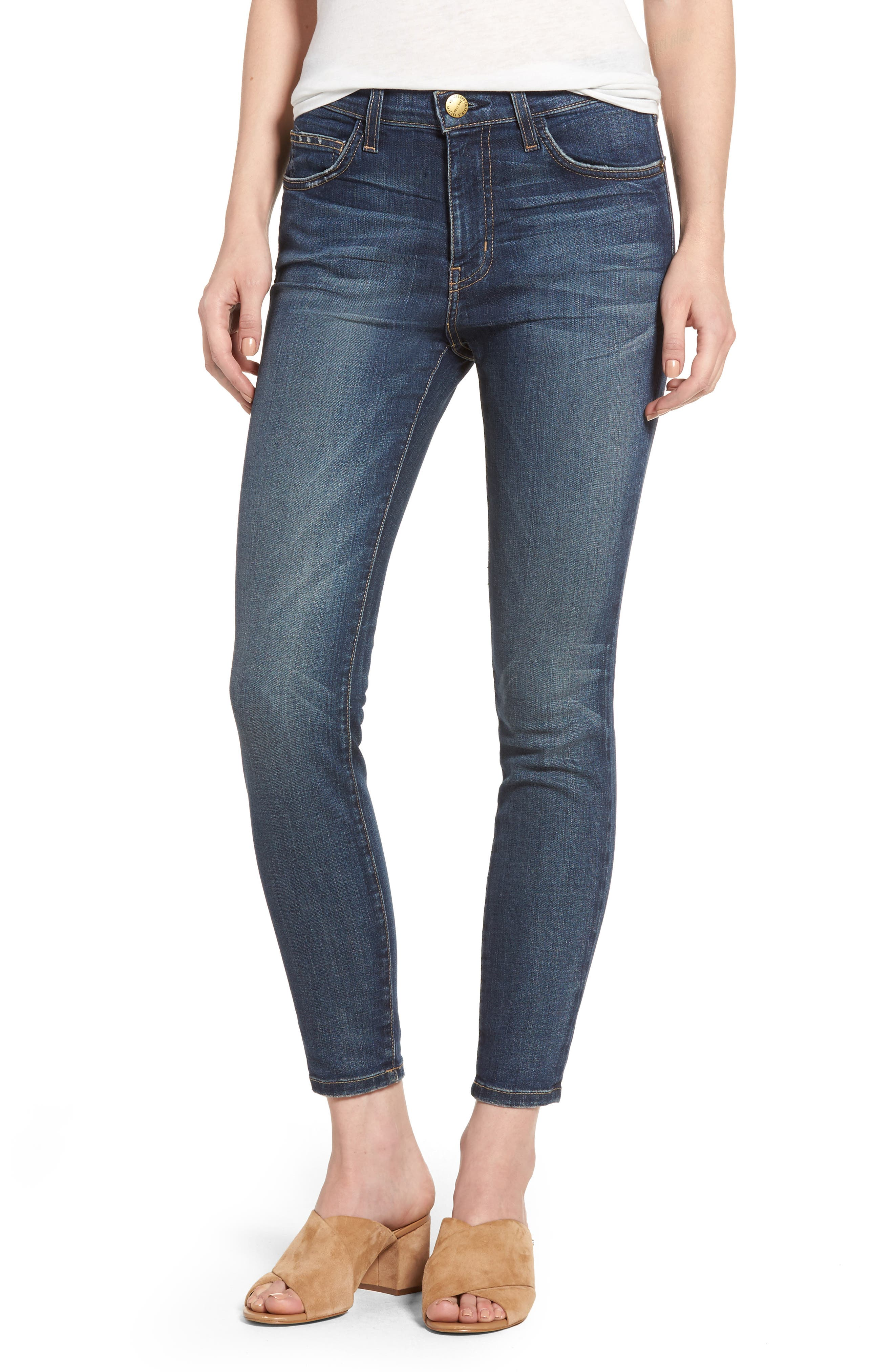 The Stiletto High Waist Skinny Jeans,                         Main,                         color, Townie