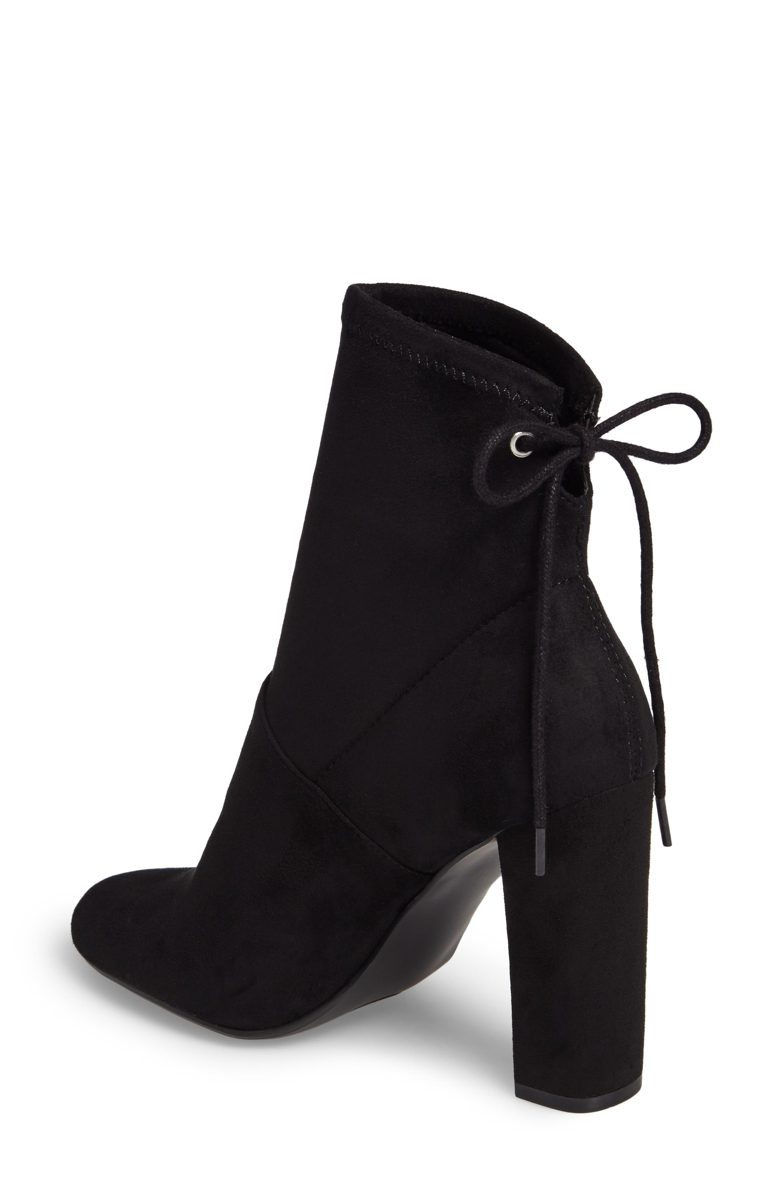 Enact Tie-Back Bootie,                             Alternate thumbnail 2, color,                             Black
