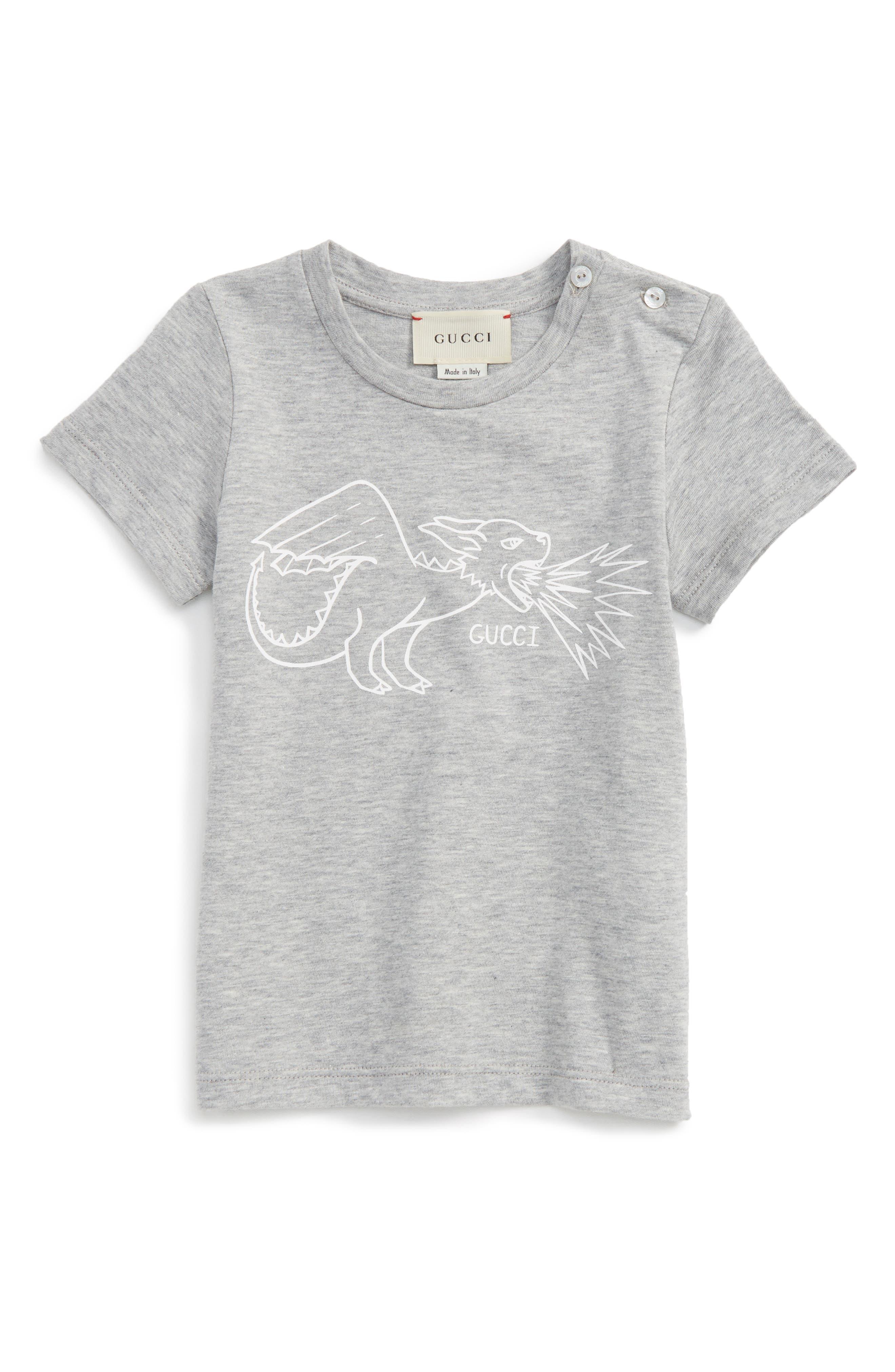 Gucci Dragon Graphic T-Shirt (Baby)