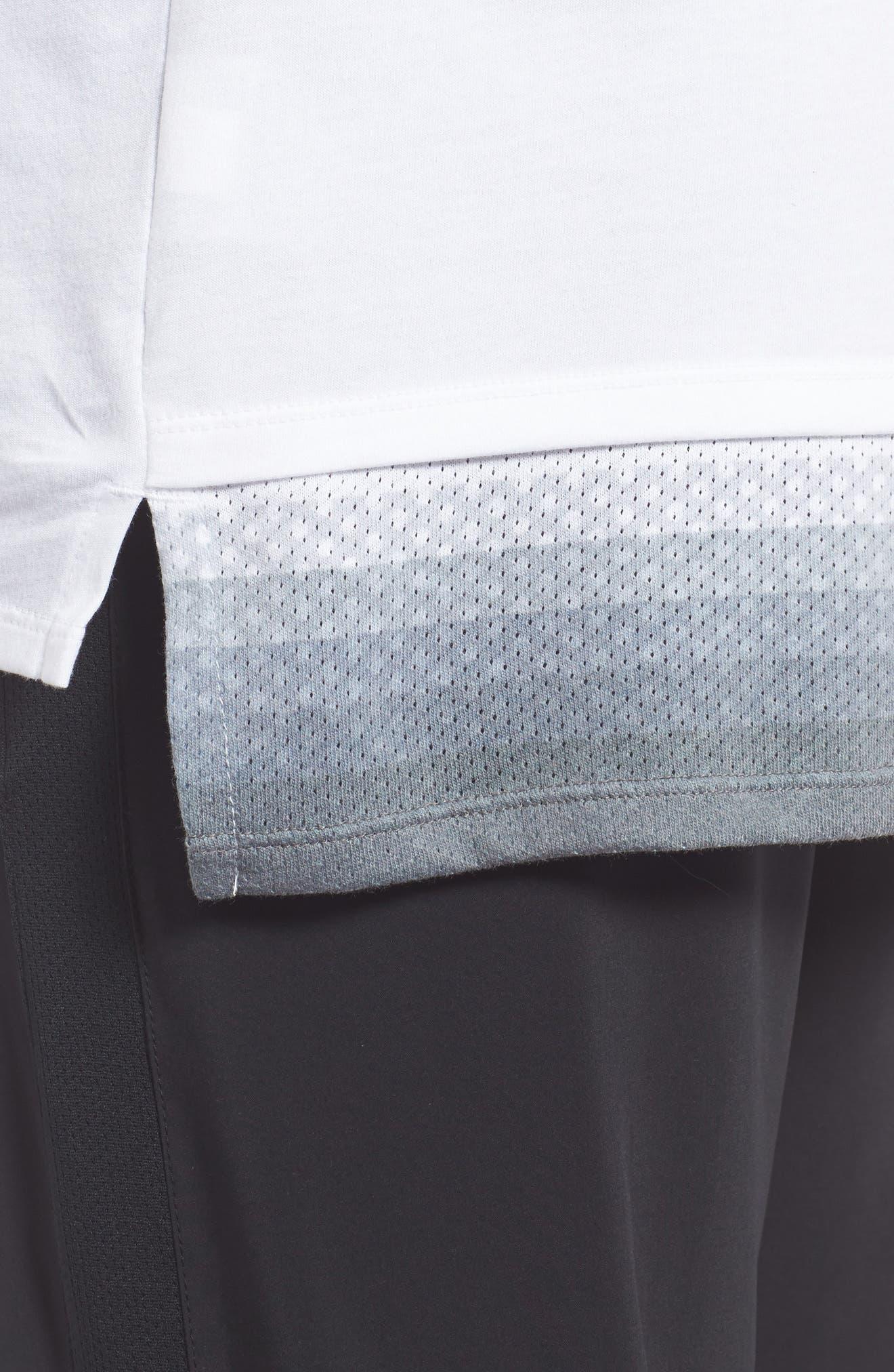 Alternate Image 4  - Nike Logo Graphic T-Shirt