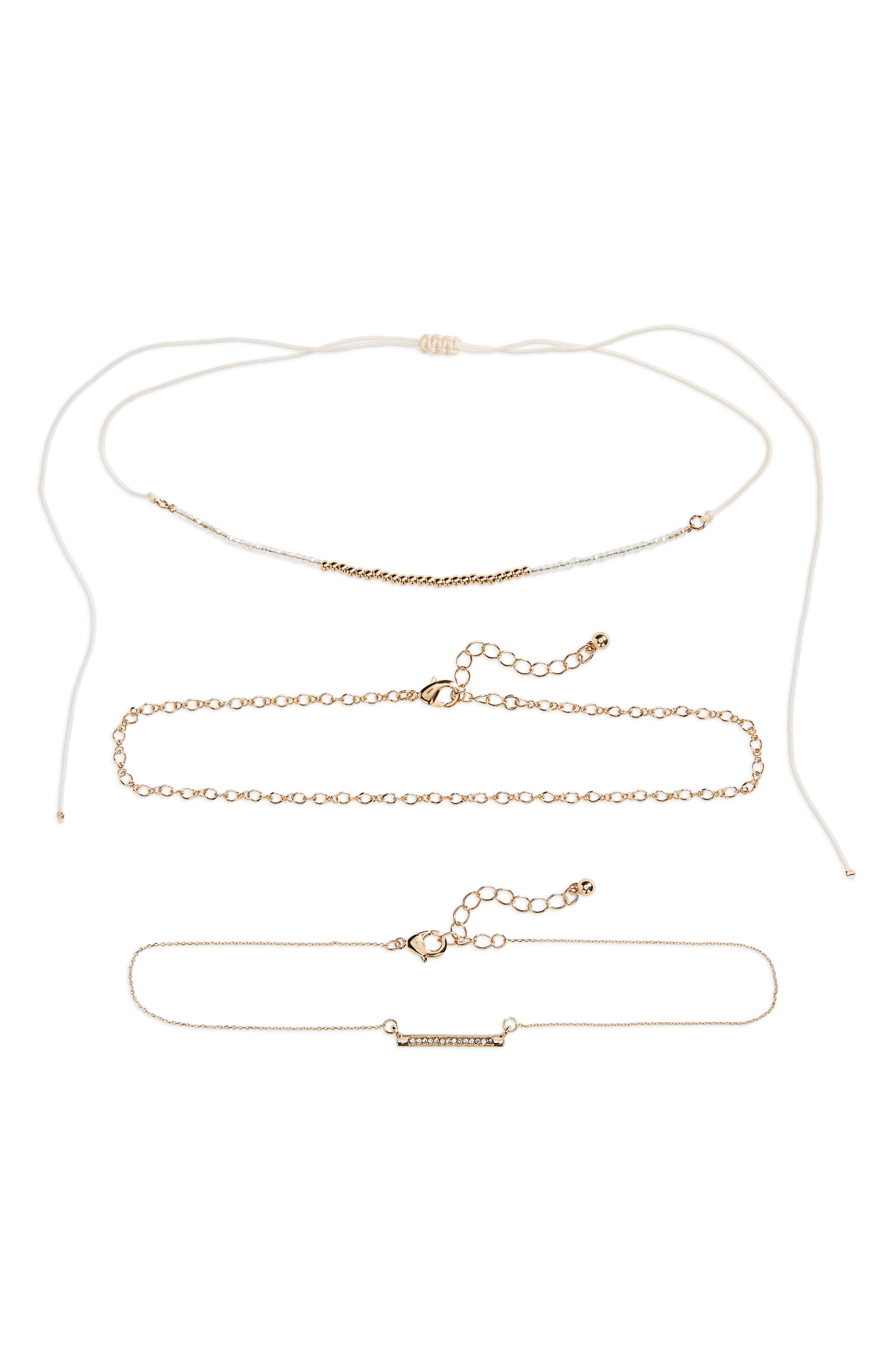 BP Set of 3 Link Necklaces
