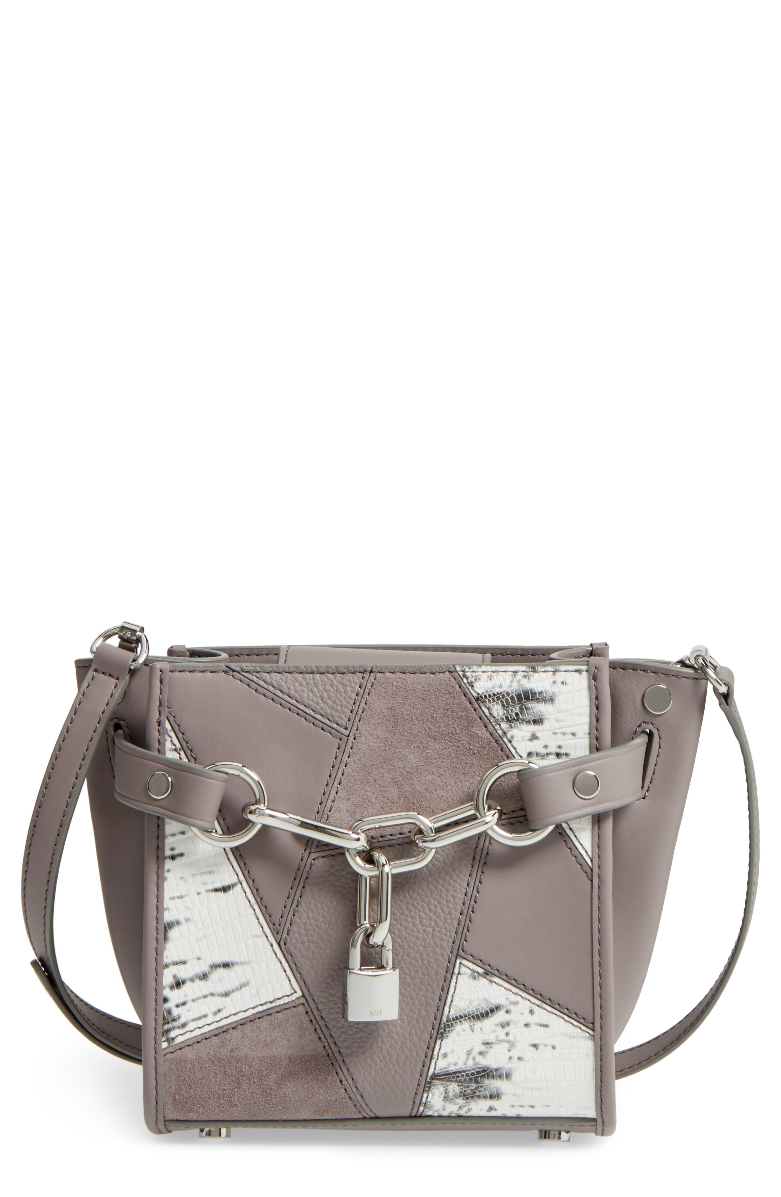 Alexander Wang Mini Attica Patchwork Leather Satchel