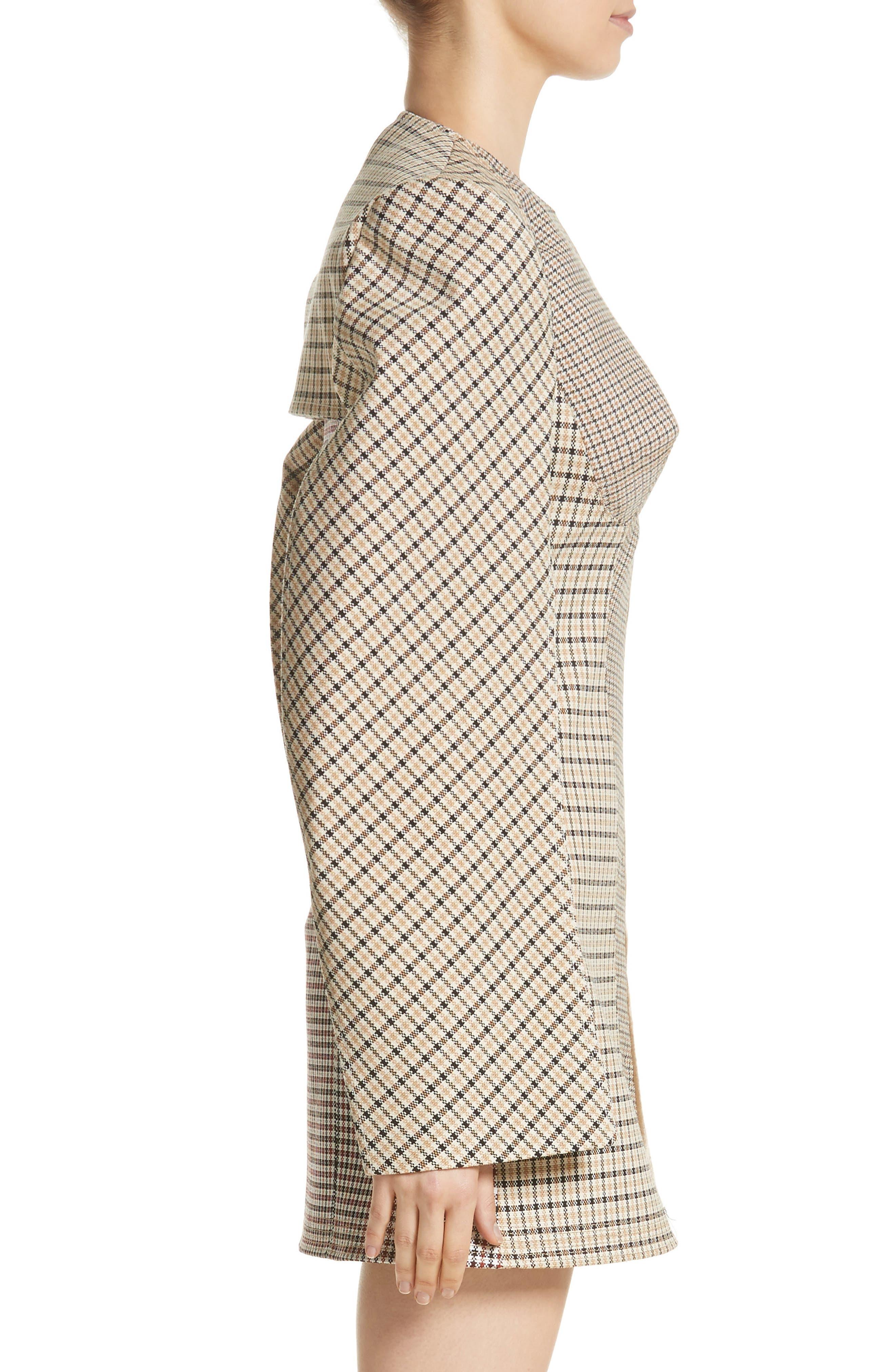 Alternate Image 3  - Stella McCartney Check Wool Blend Shrug