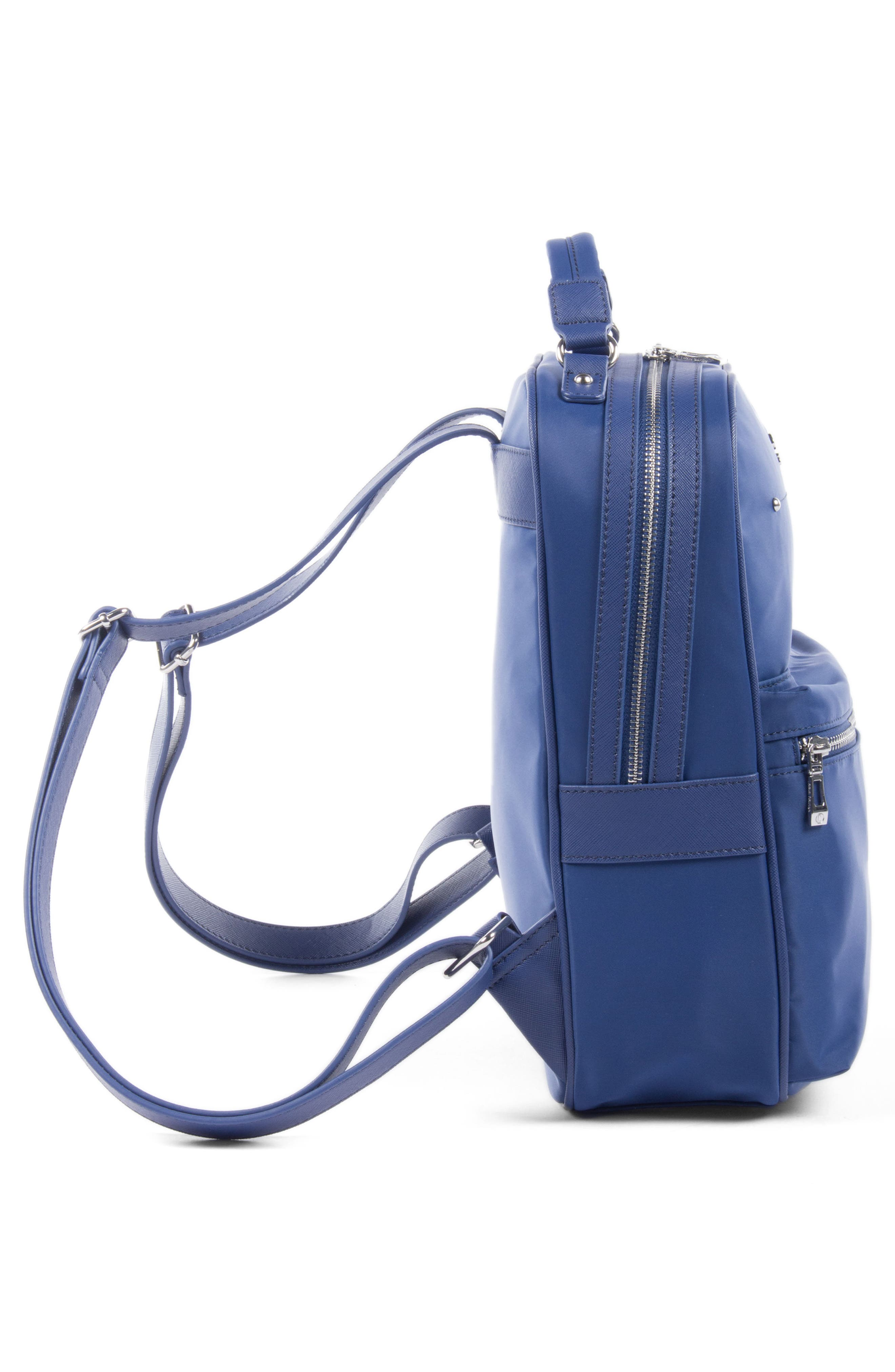 Céline Dion Presto Nylon Backpack,                             Alternate thumbnail 3, color,                             Blue