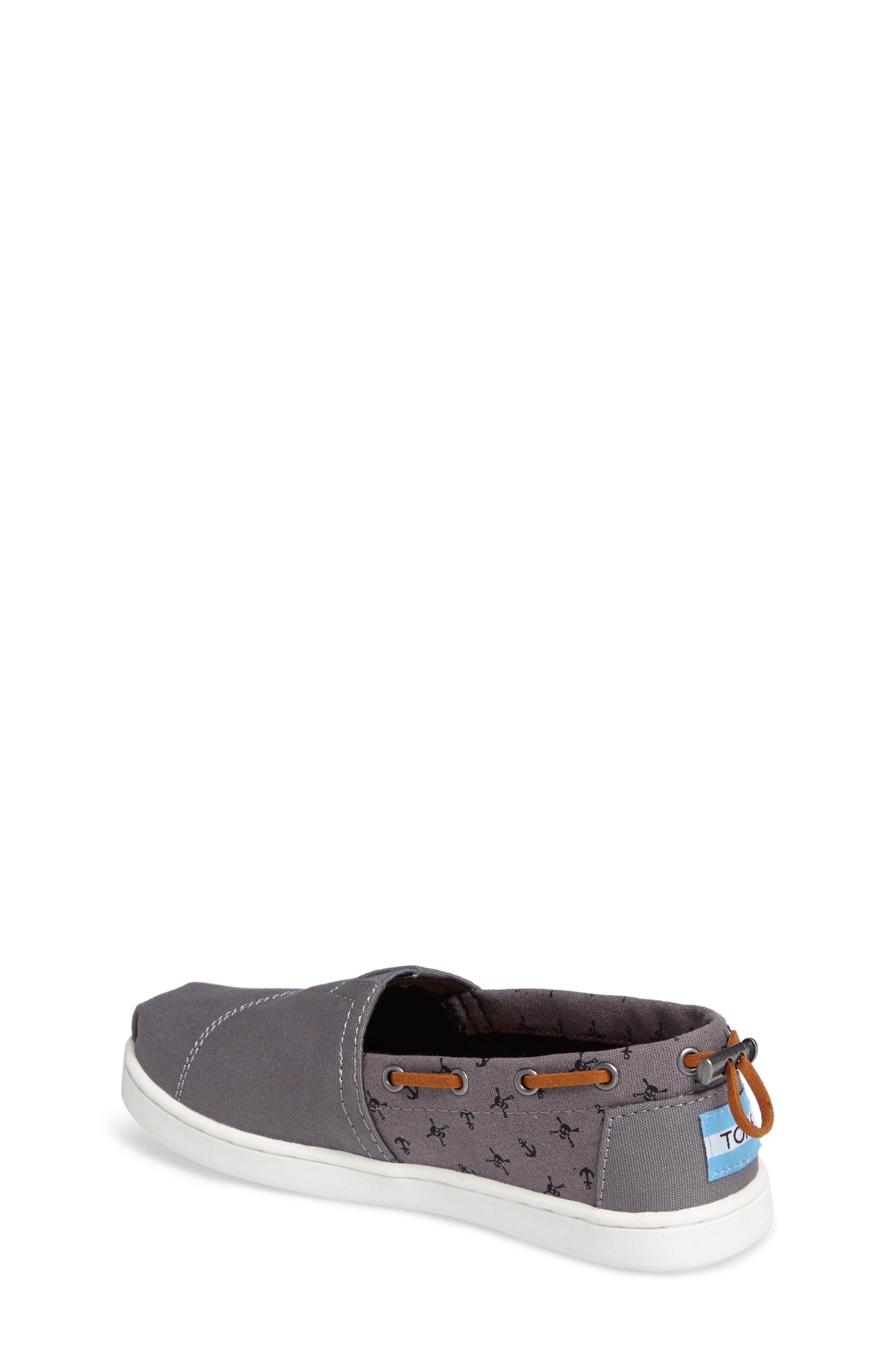 Alternate Image 2  - TOMS Bimini Boat Shoe Sneaker (Toddler, Little Kid & Big Kid)