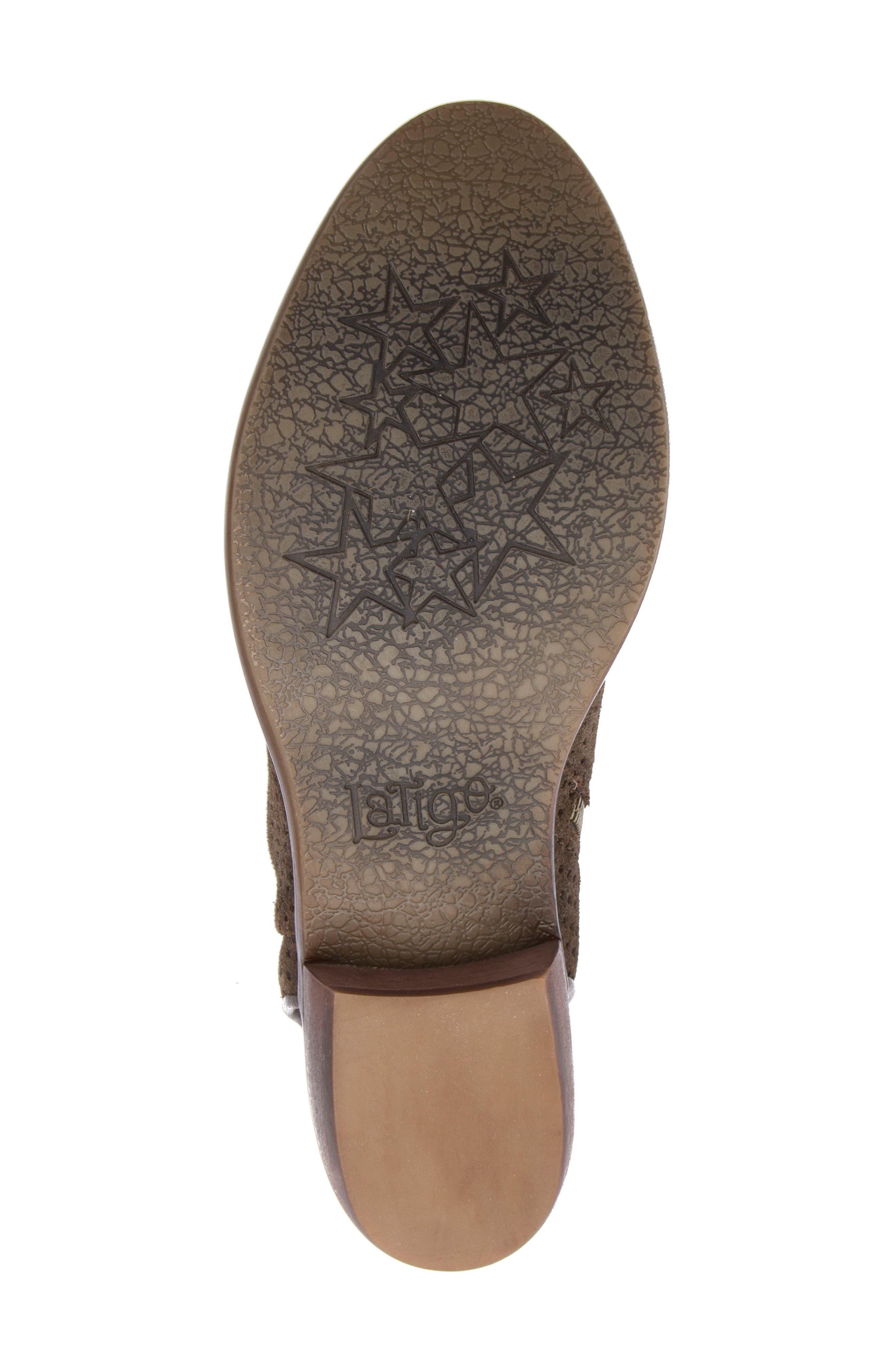 Alternate Image 6  - Latigo Izadore Perforated Open Heel Bootie (Women)
