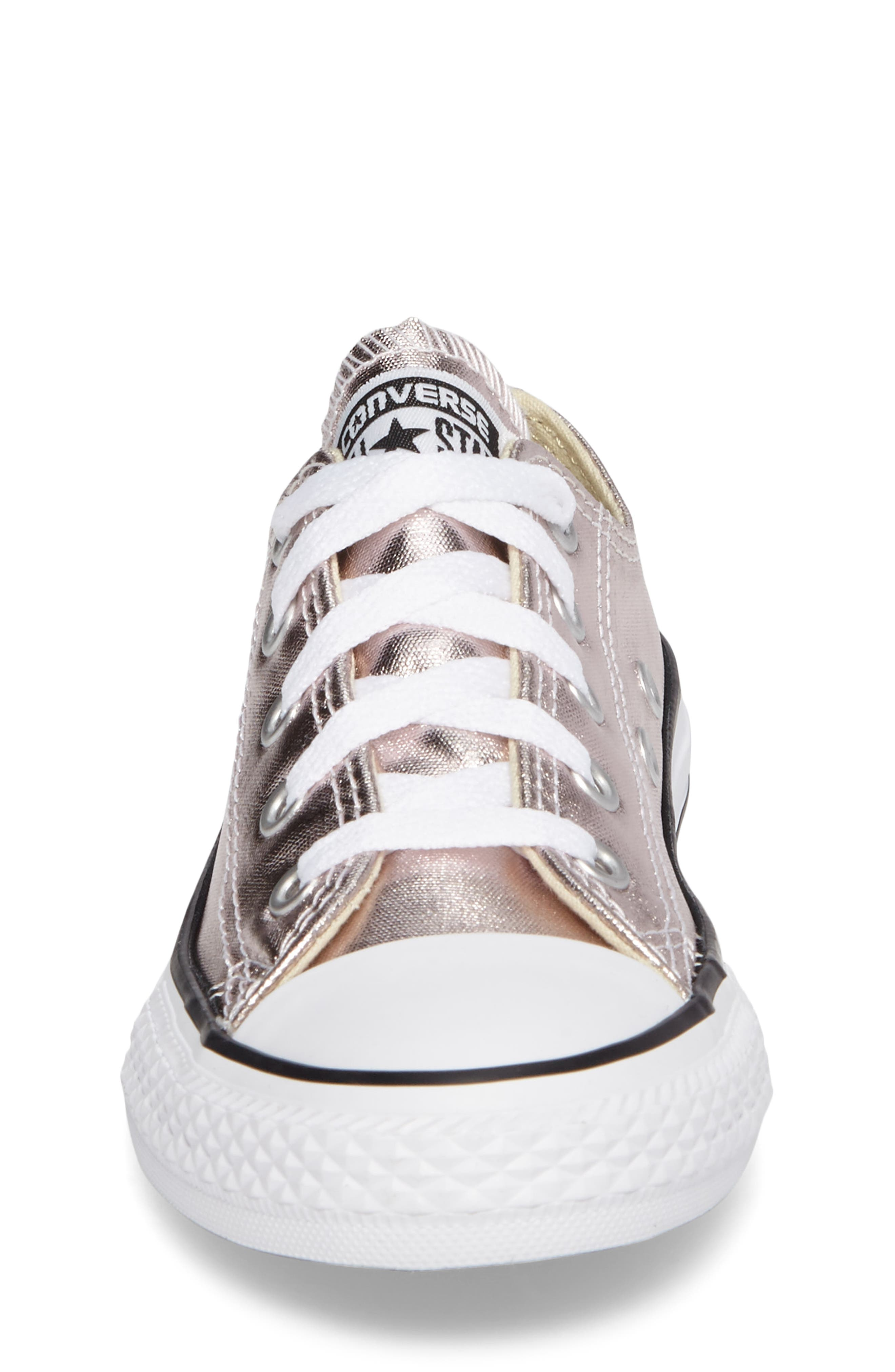 Alternate Image 4  - Converse Chuck Taylor® All Star® Ox Metallic Low Top Sneaker (Toddler & Little Kid)