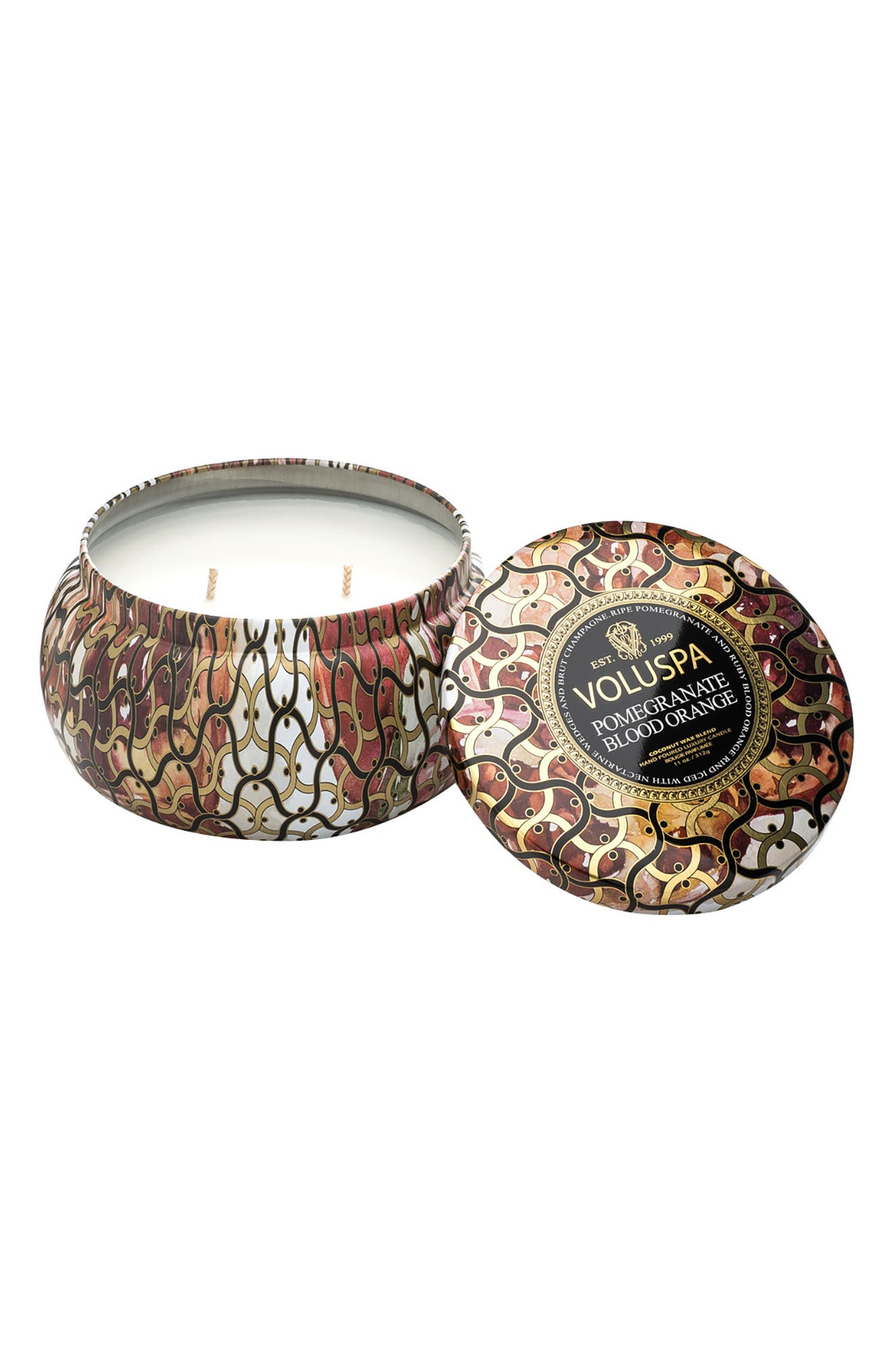 Alternate Image 2  - Voluspa Maison Noir Two-Wick Candle Trio