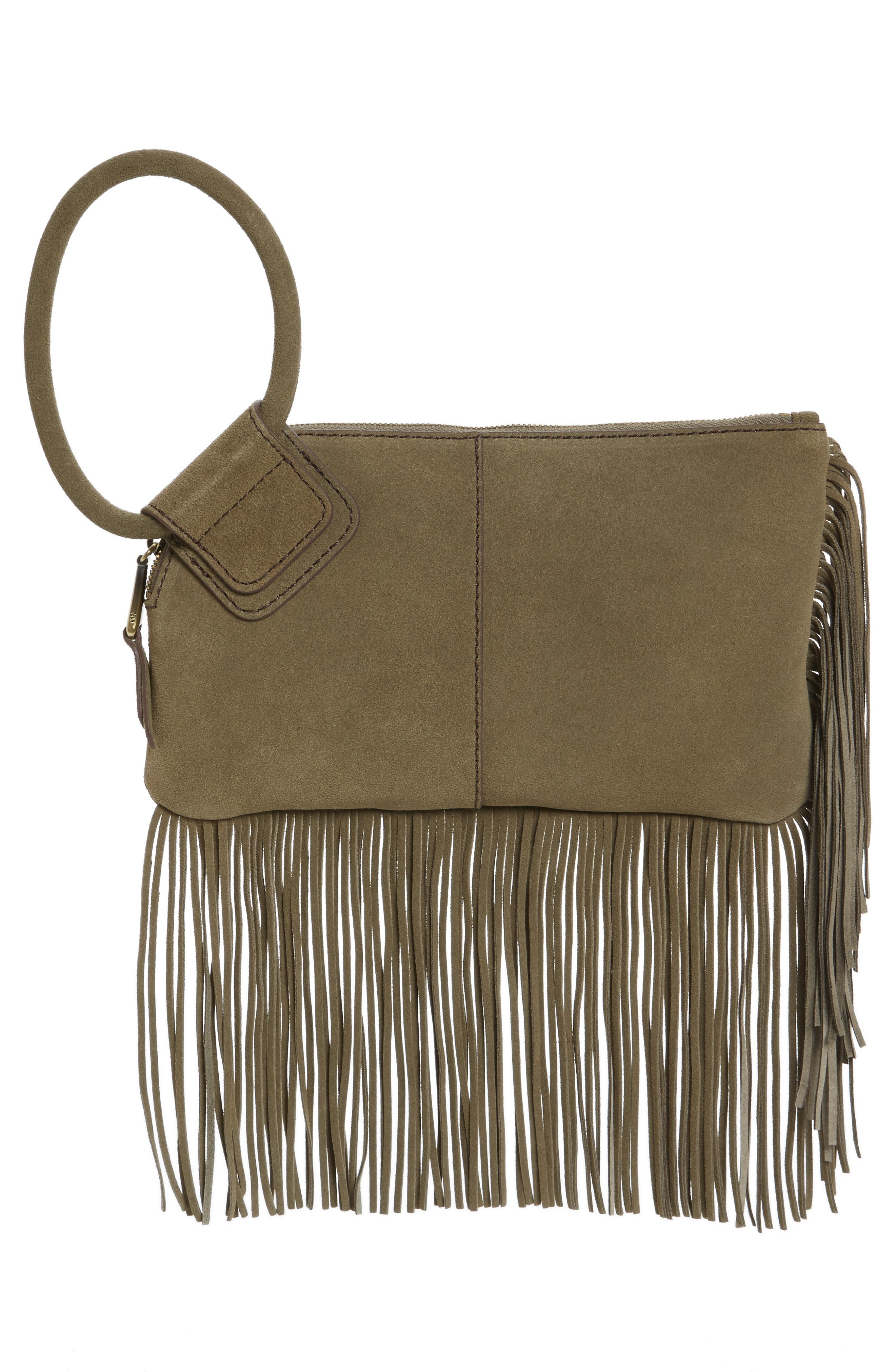 Alternate Image 3  - Hobo Sable Leather Clutch