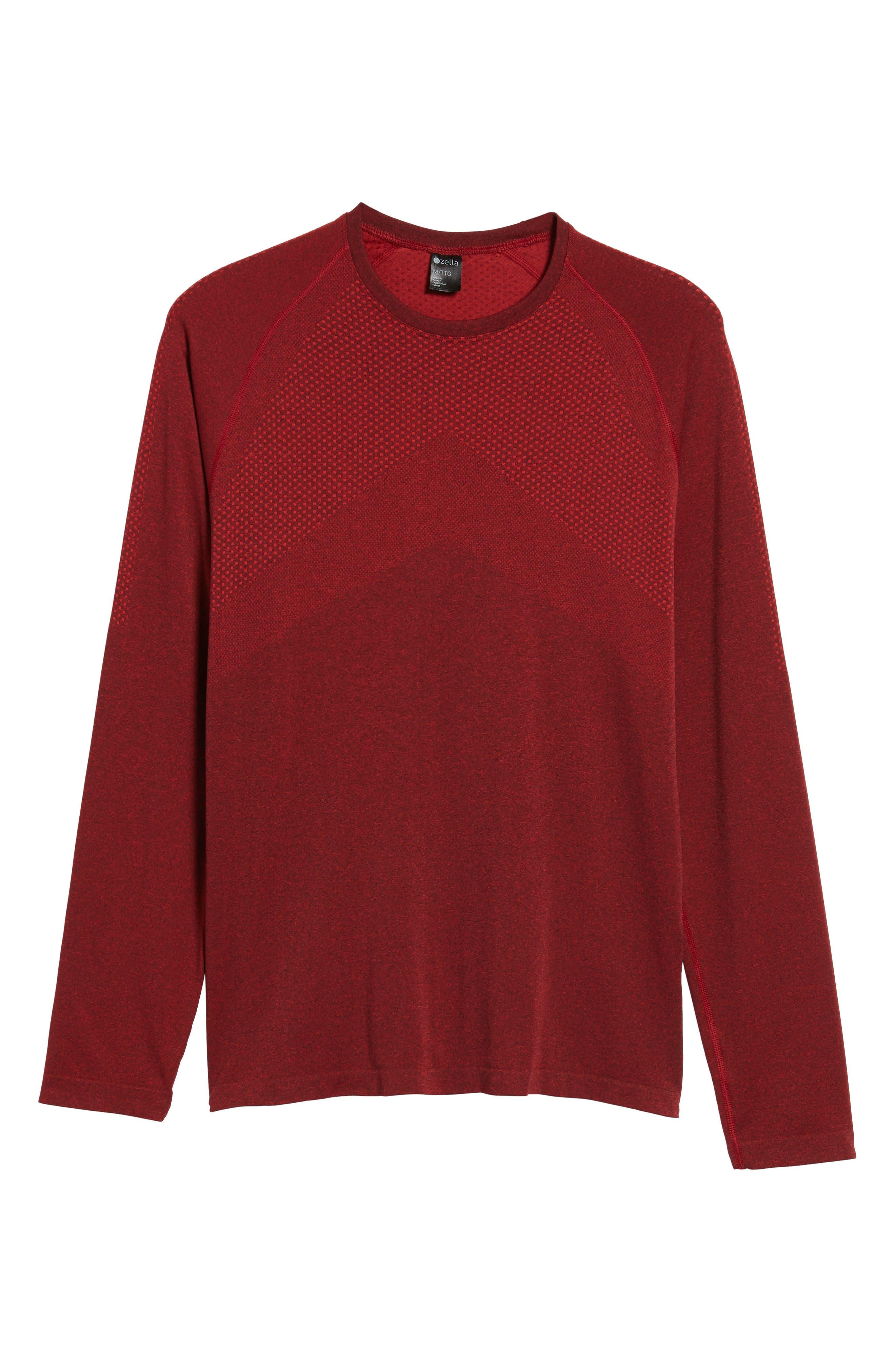 Alternate Image 5  - Zella Zeolite Long Sleeve Performance T-Shirt