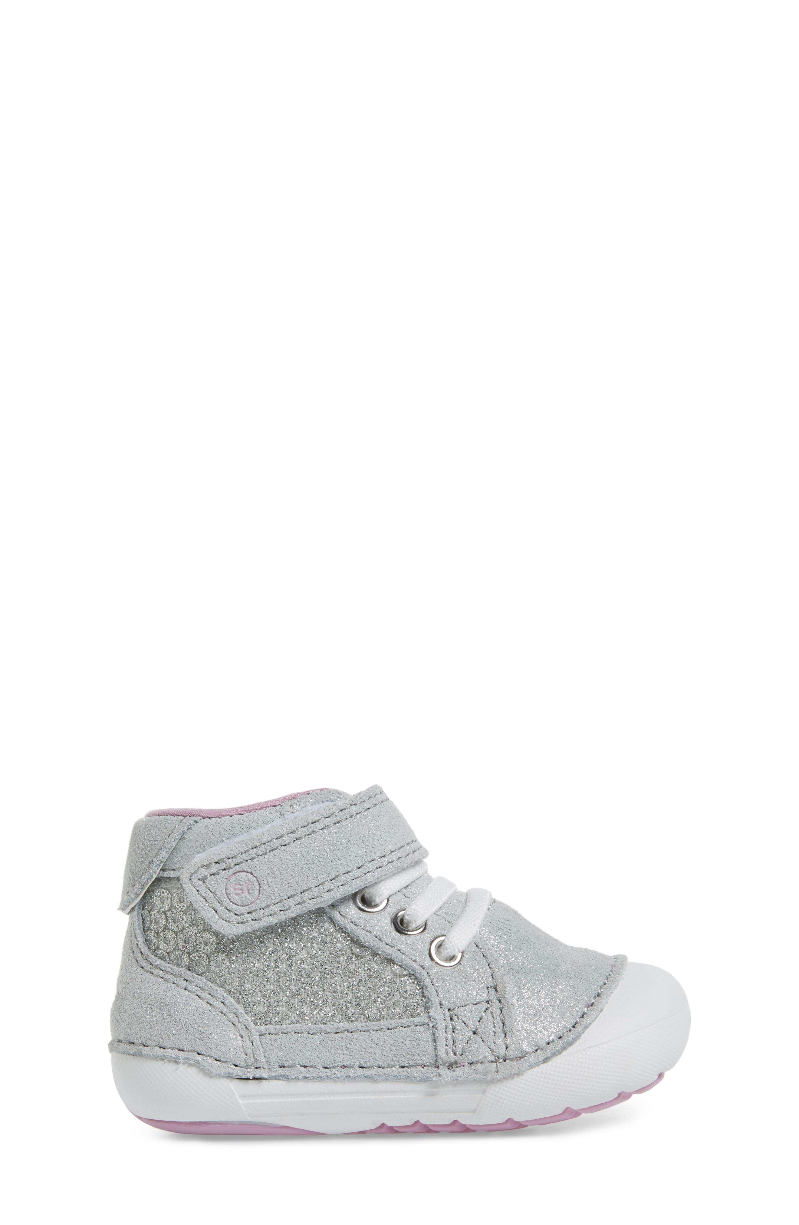 Alternate Image 3  - Stride Rite Soft Motion™ Jada High Top Sneaker (Baby & Walker)