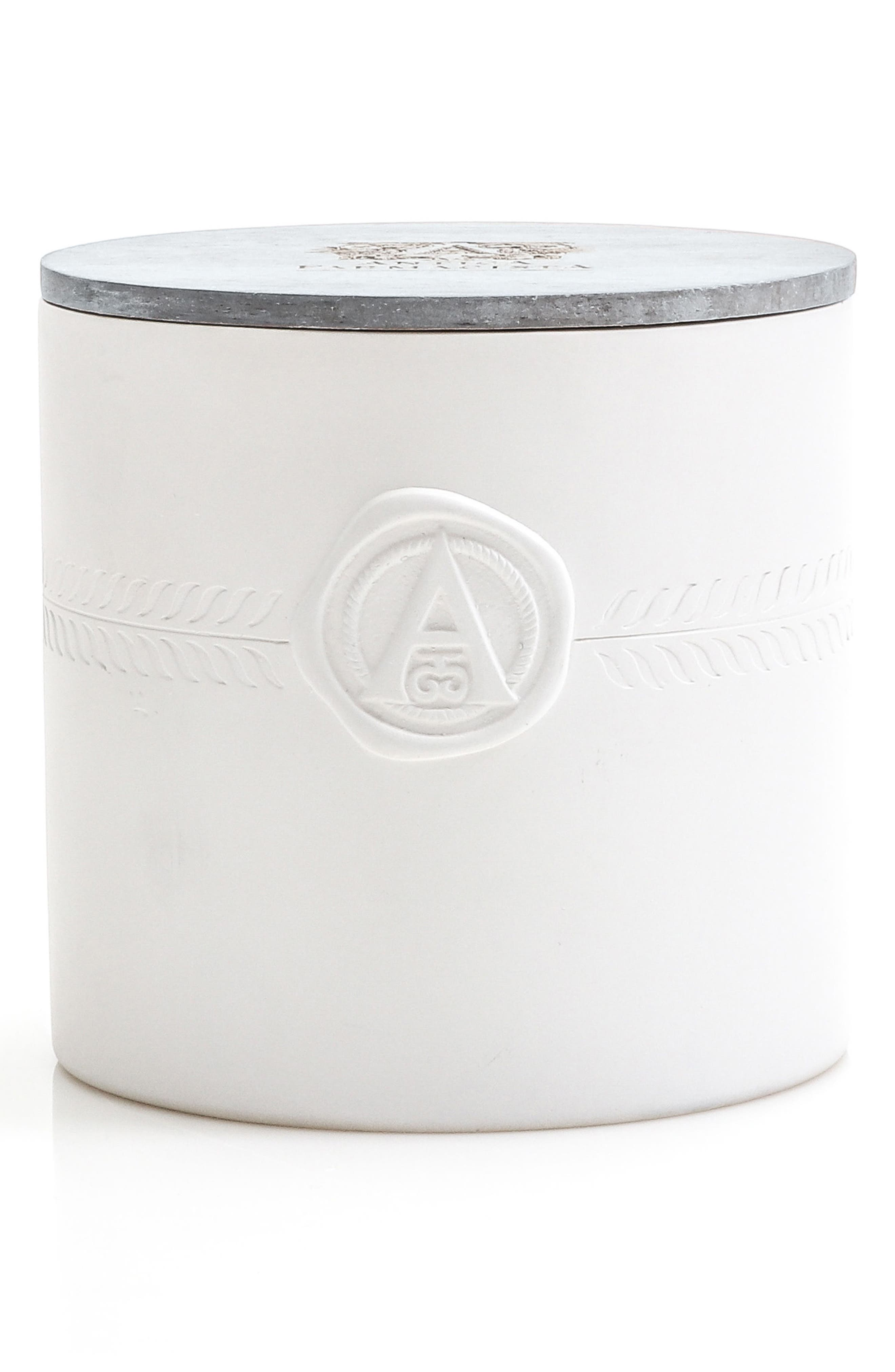 Palm Three-Wick Candle,                         Main,                         color, No Color