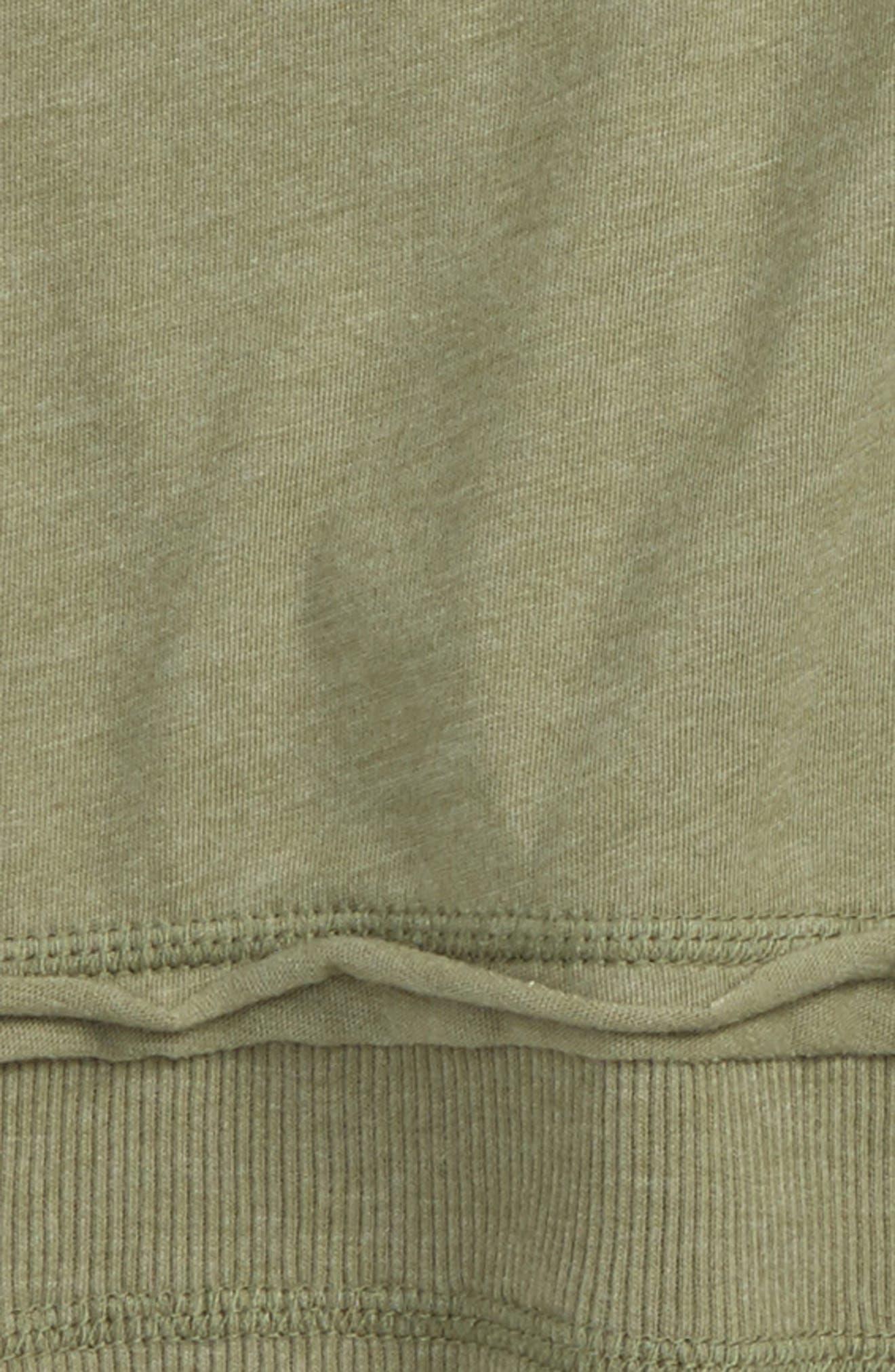 Long Sleeve T-Shirt,                             Alternate thumbnail 2, color,                             Olive