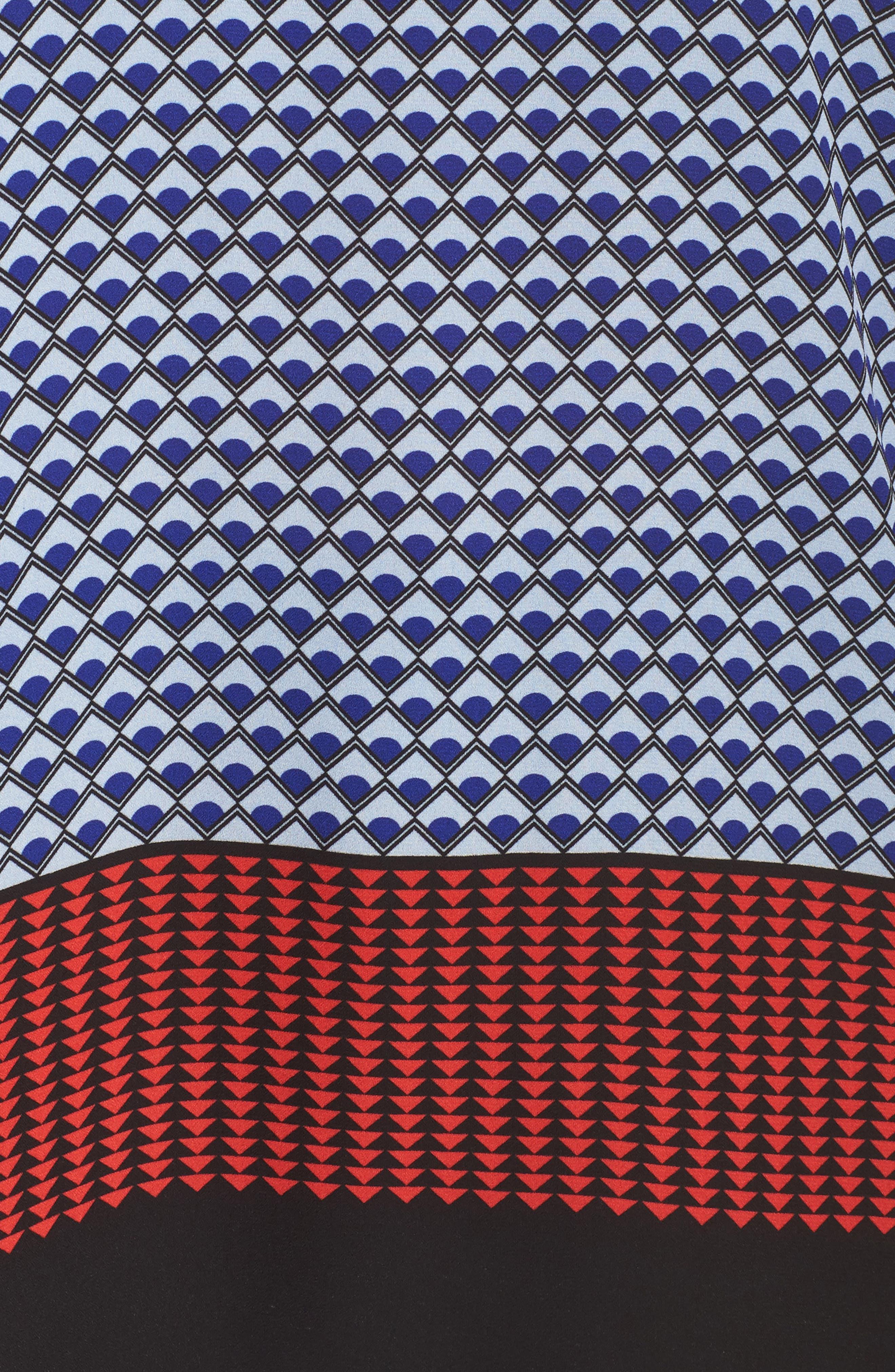 Alternate Image 5  - Vince Camuto Foulard Border Print Blouse (Plus Size)