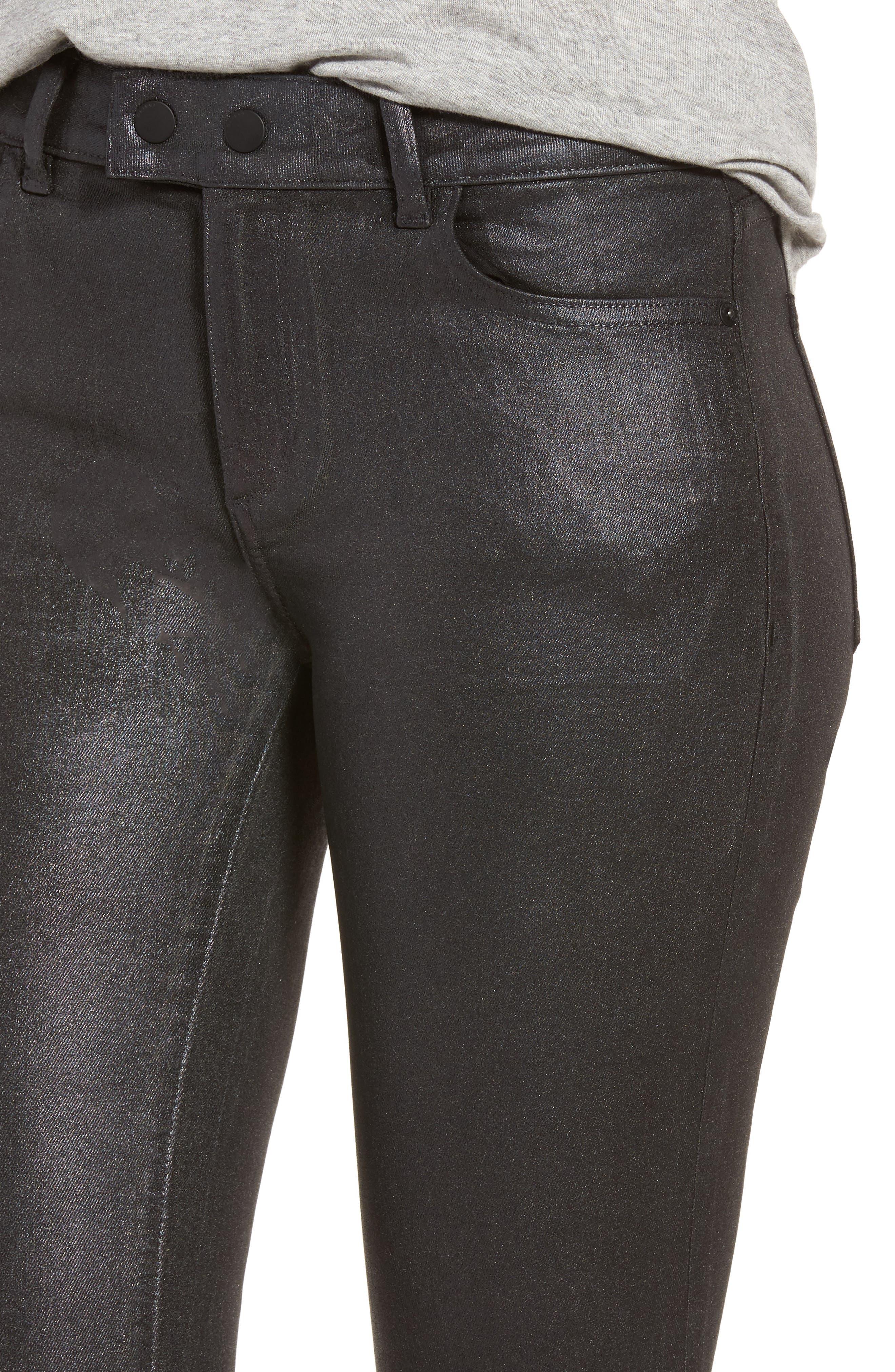Alternate Image 4  - DL1961 Florence Instasculpt Crop Skinny Jeans (Bradshaw)