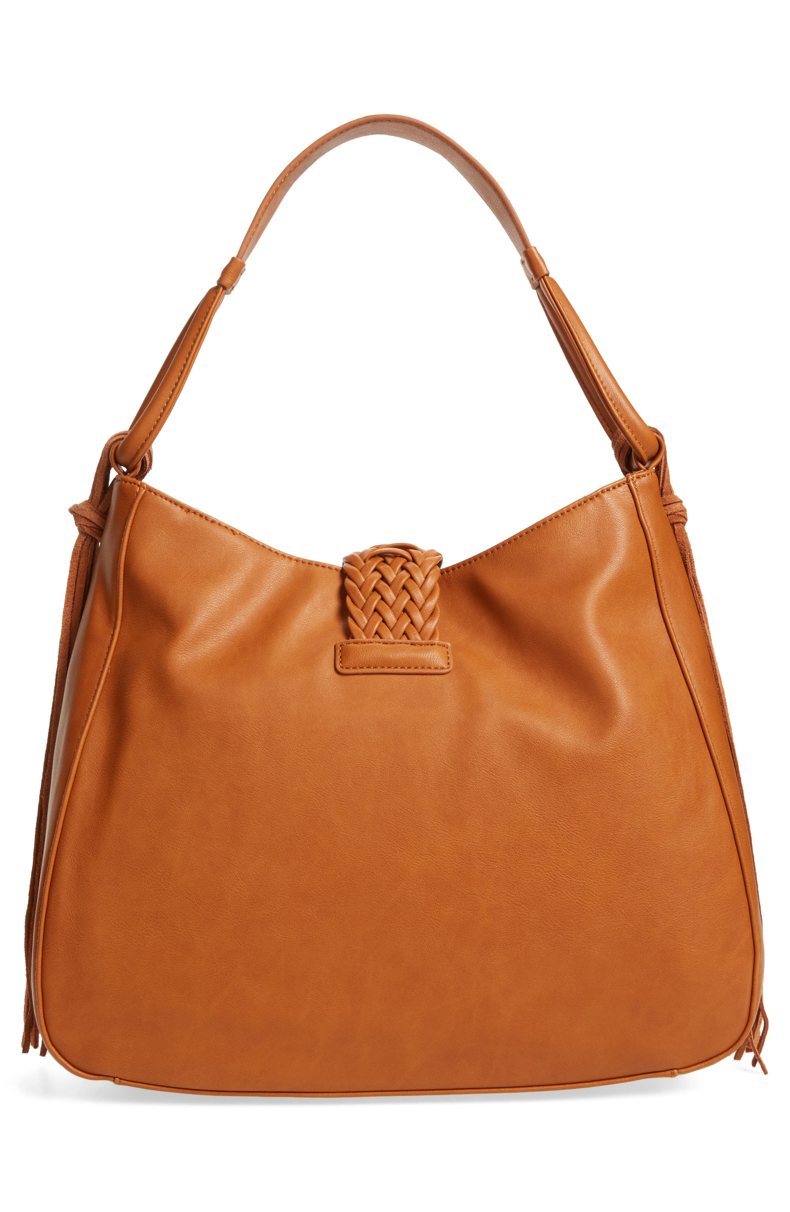 Alternate Image 2  - Sole Society Vale Faux Leather Hobo Bag
