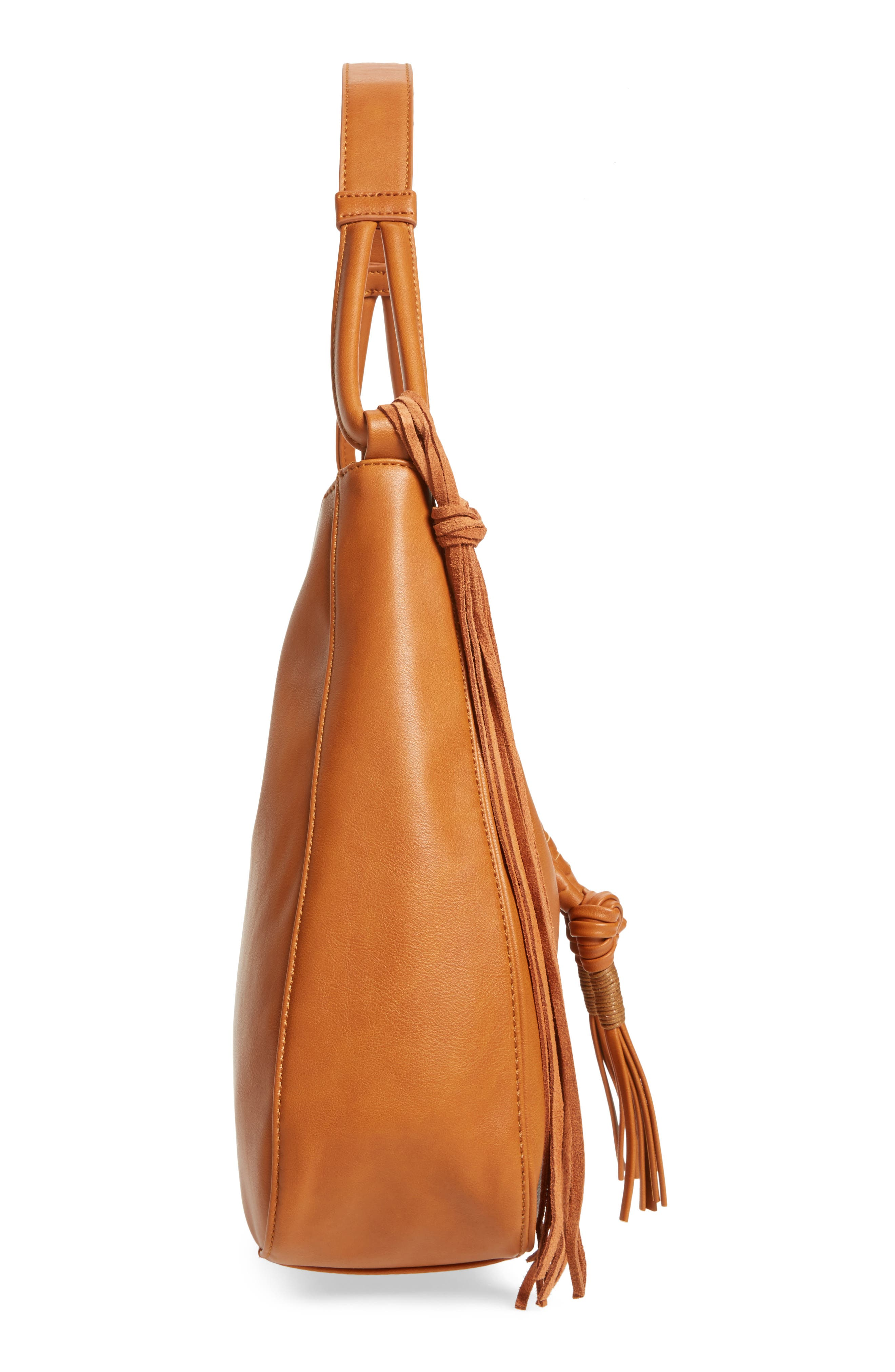 Alternate Image 3  - Sole Society Vale Faux Leather Hobo Bag