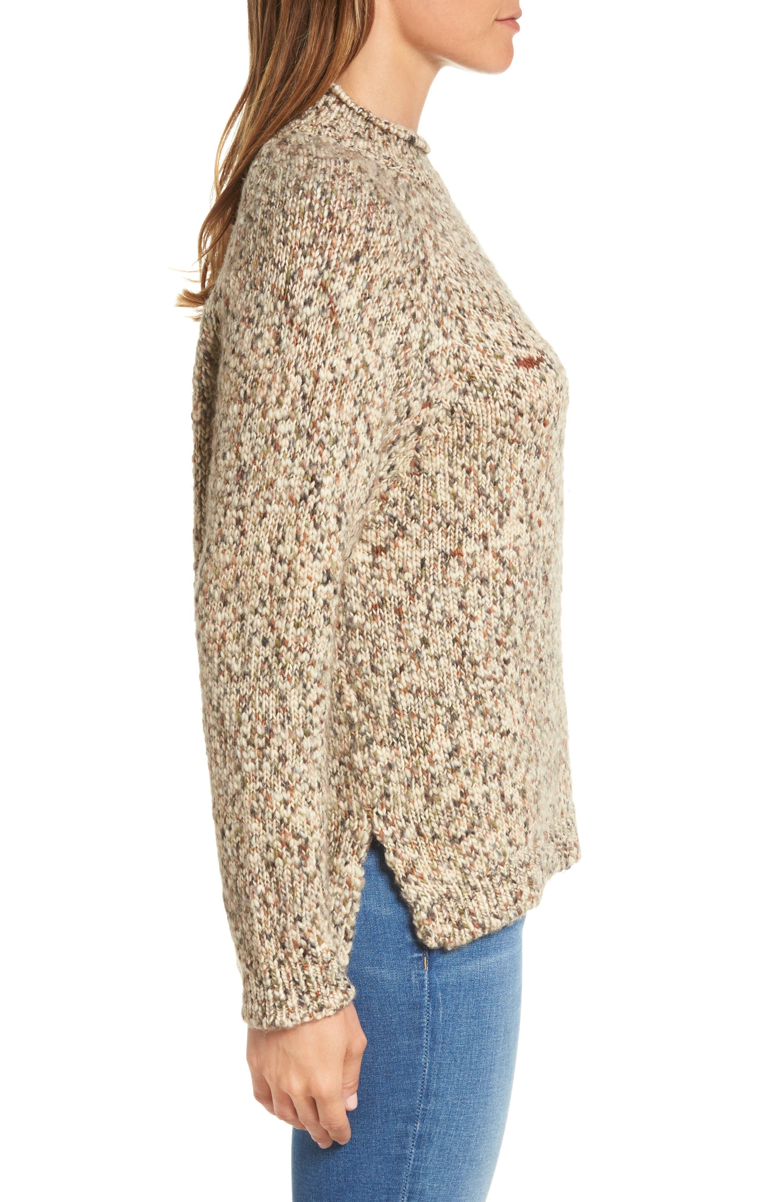 Alternate Image 4  - Barbour Jane Funnel Neck Wool Sweater