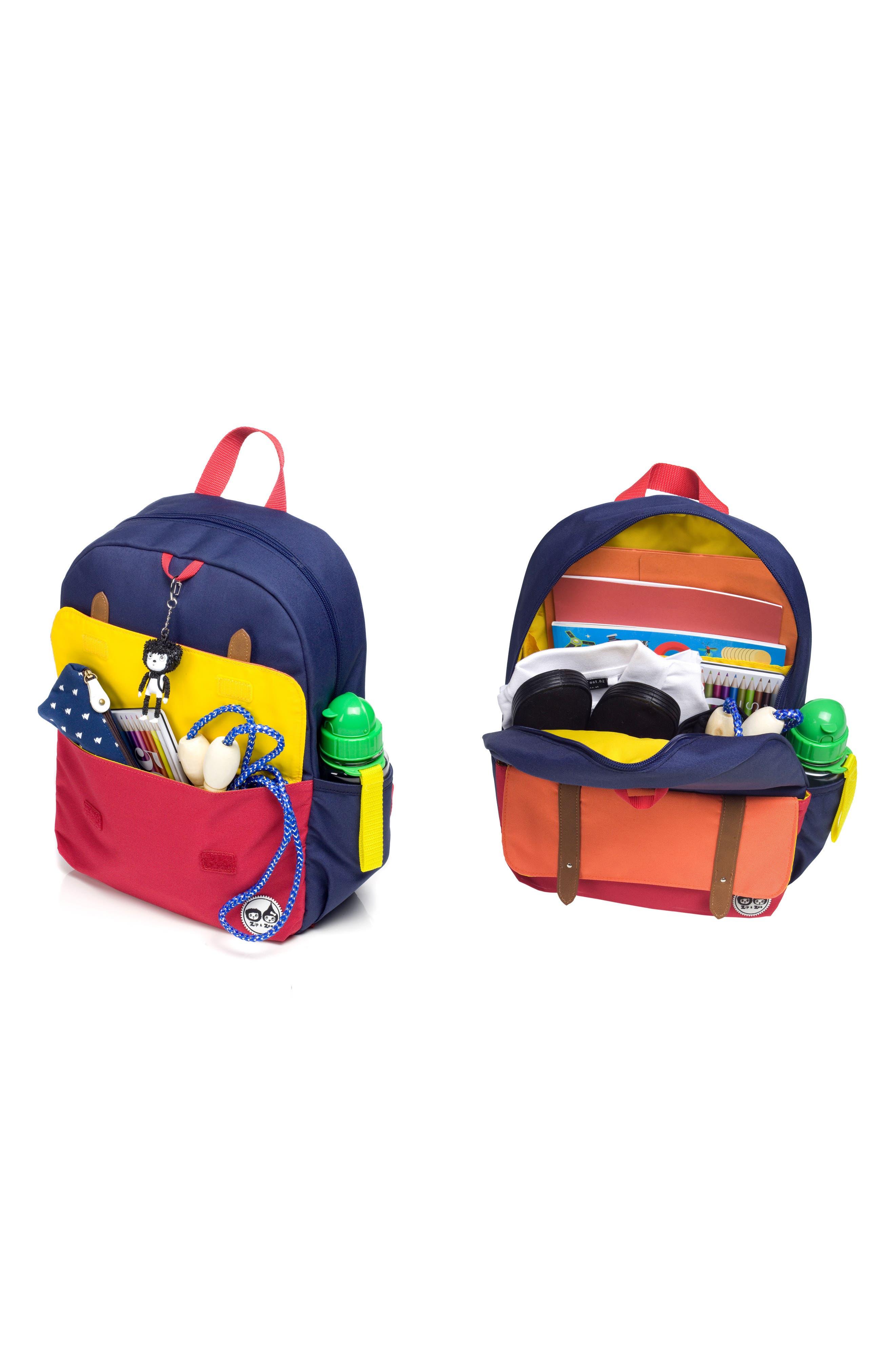 Alternate Image 7  - Babymel Zip & Zoe Junior Backpack Set
