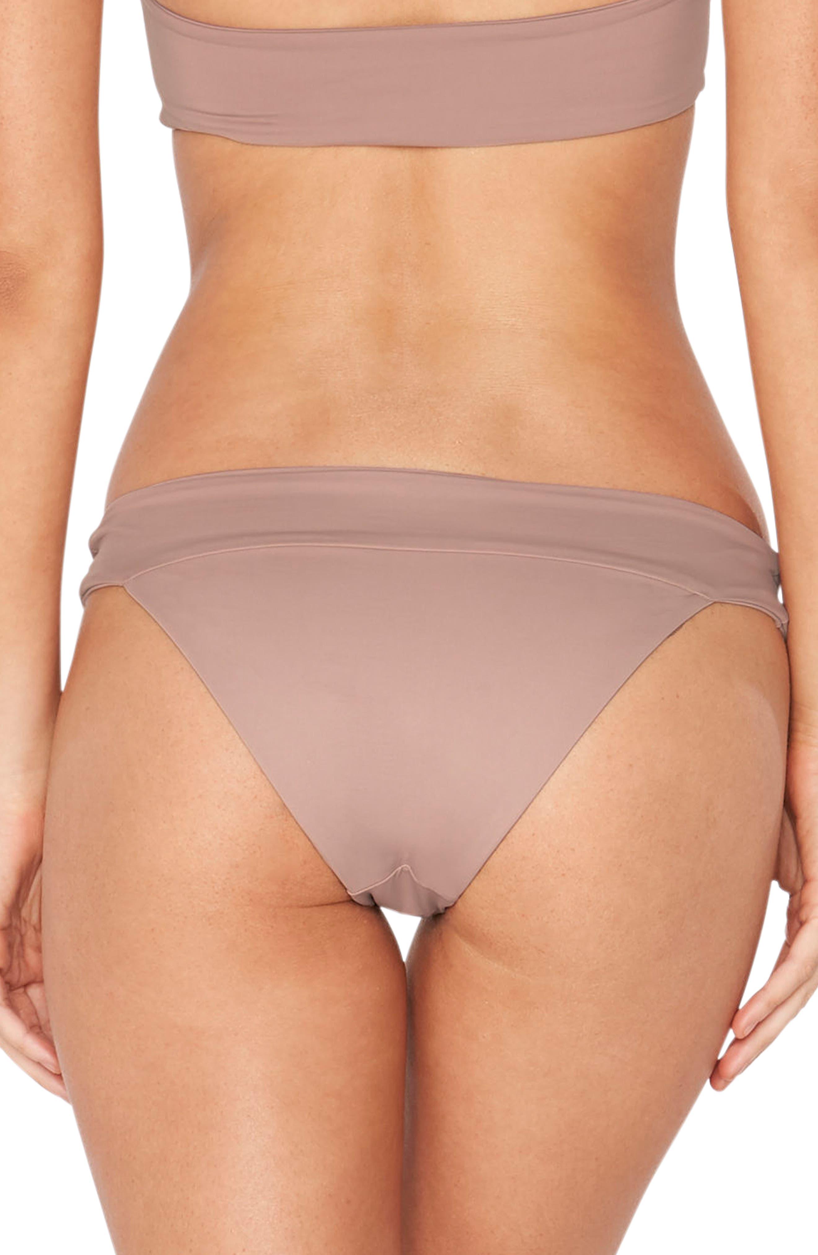 Veronica Classic Bikini Bottoms,                             Alternate thumbnail 2, color,                             Dusty Pearl