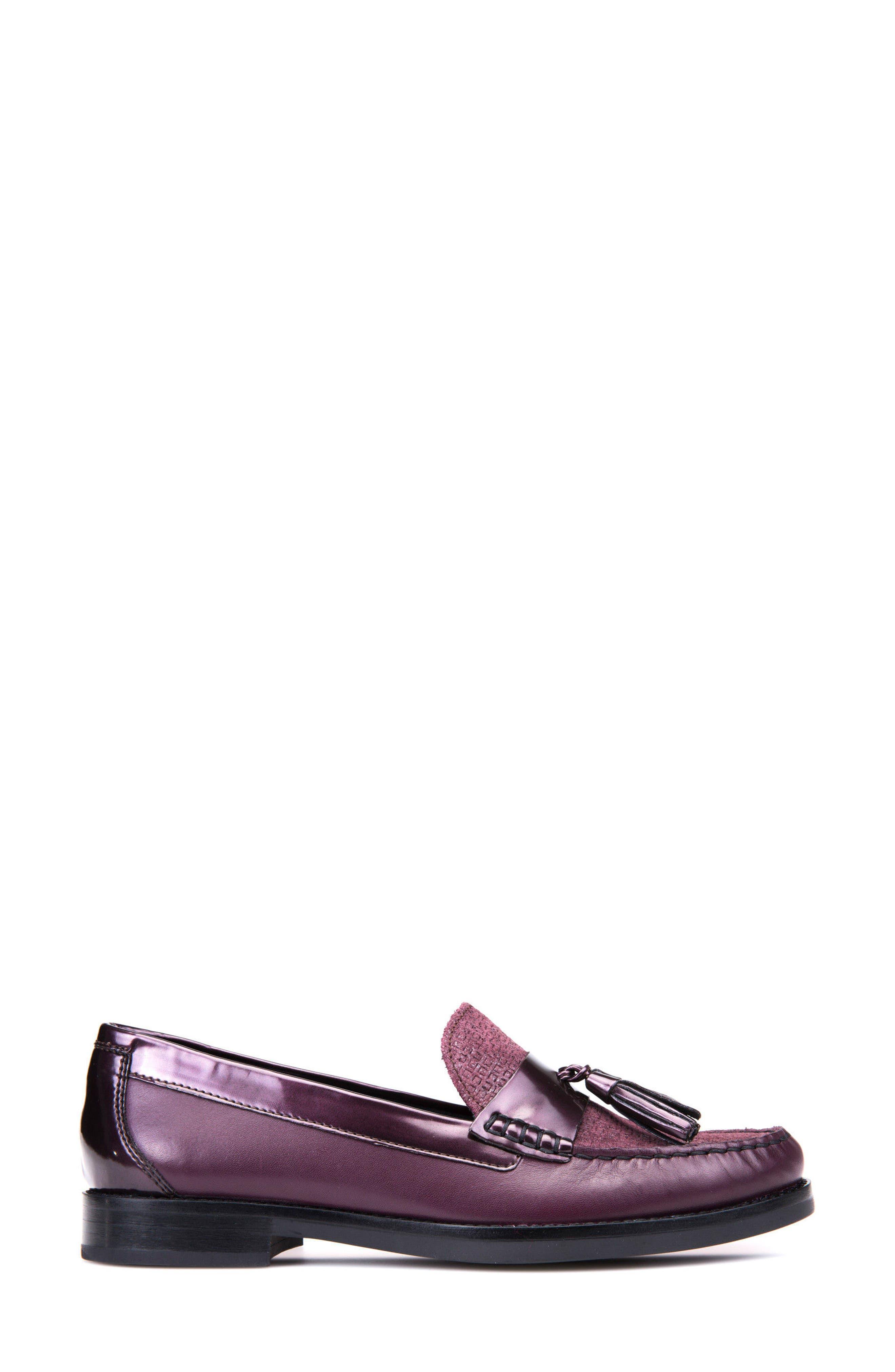 Promethea Loafer,                             Alternate thumbnail 4, color,                             Prune Leather