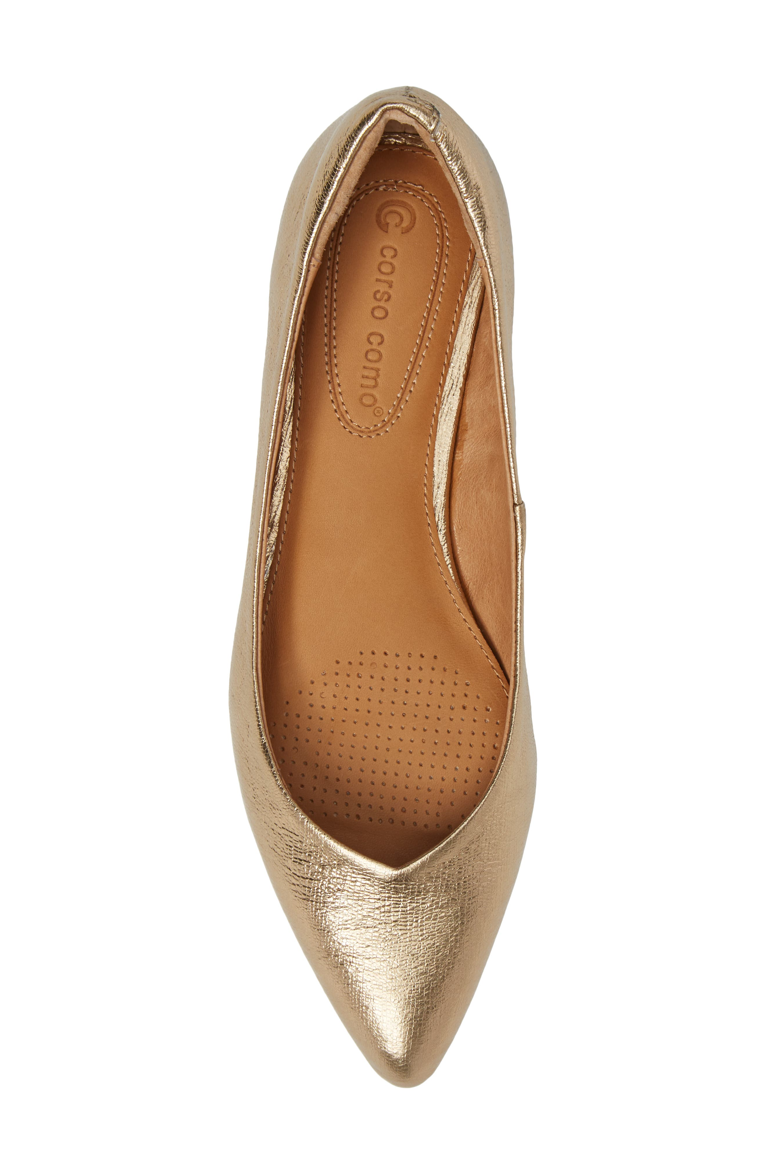 Alternate Image 5  - Corso Como Julia Pointy Toe Flat (Women)