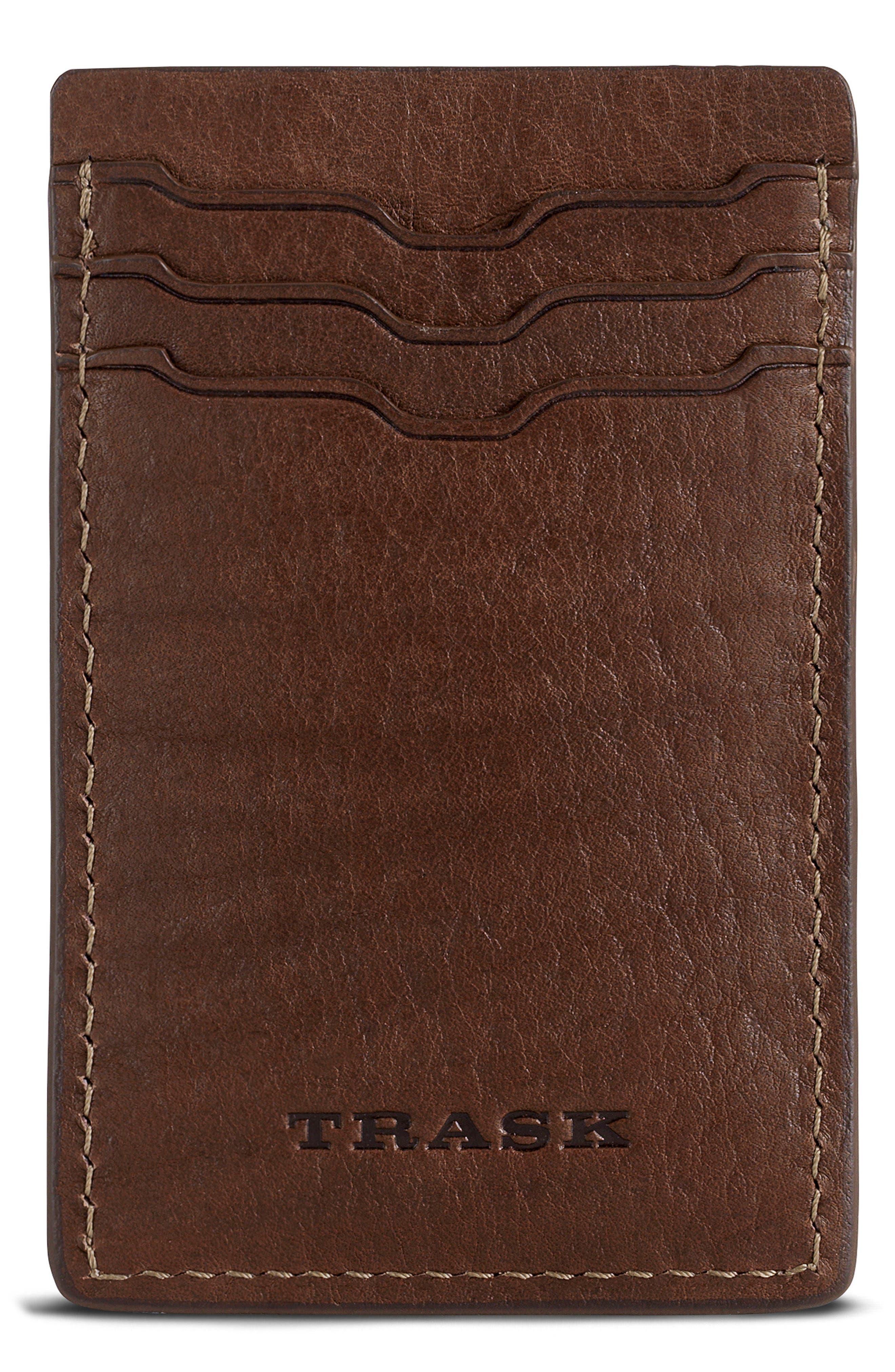 Trask Jackson Money Clip Card Case