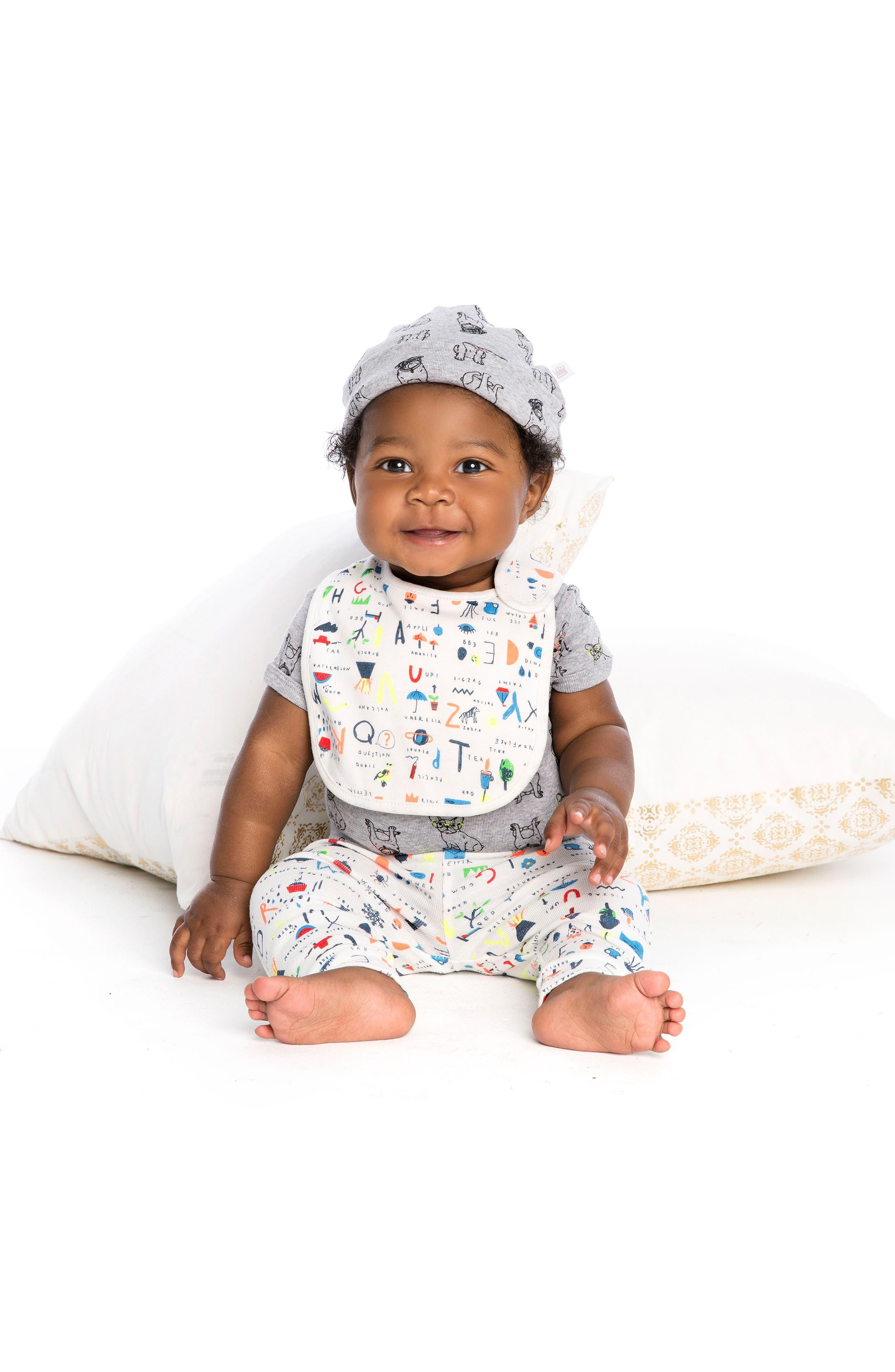 Alternate Image 2  - Rosie Pope 3-Pack Nerd Alert Hats Set (Baby)