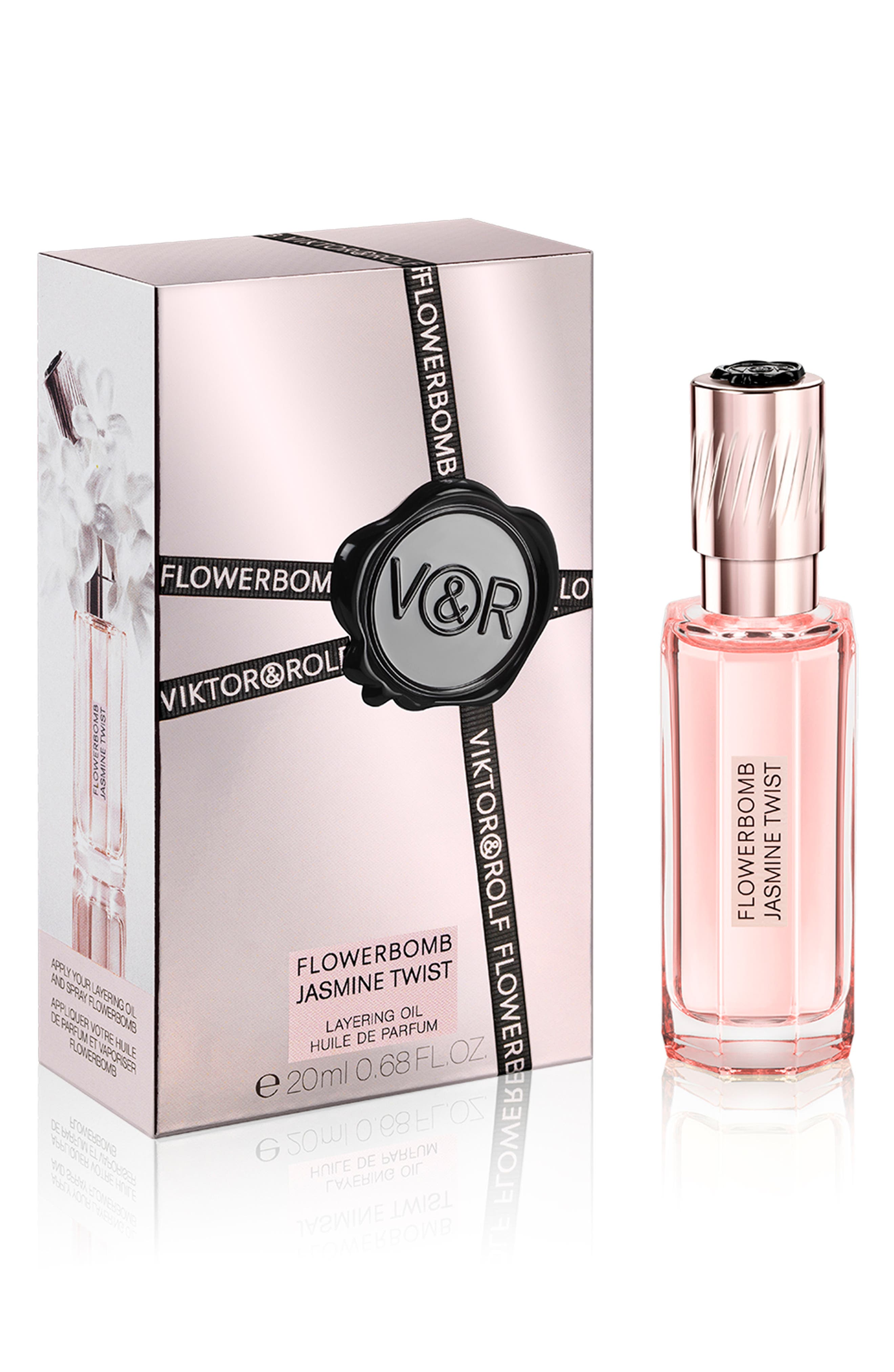 Flowerbomb Jasmine Twist Layering Oil,                             Main thumbnail 1, color,                             No Color