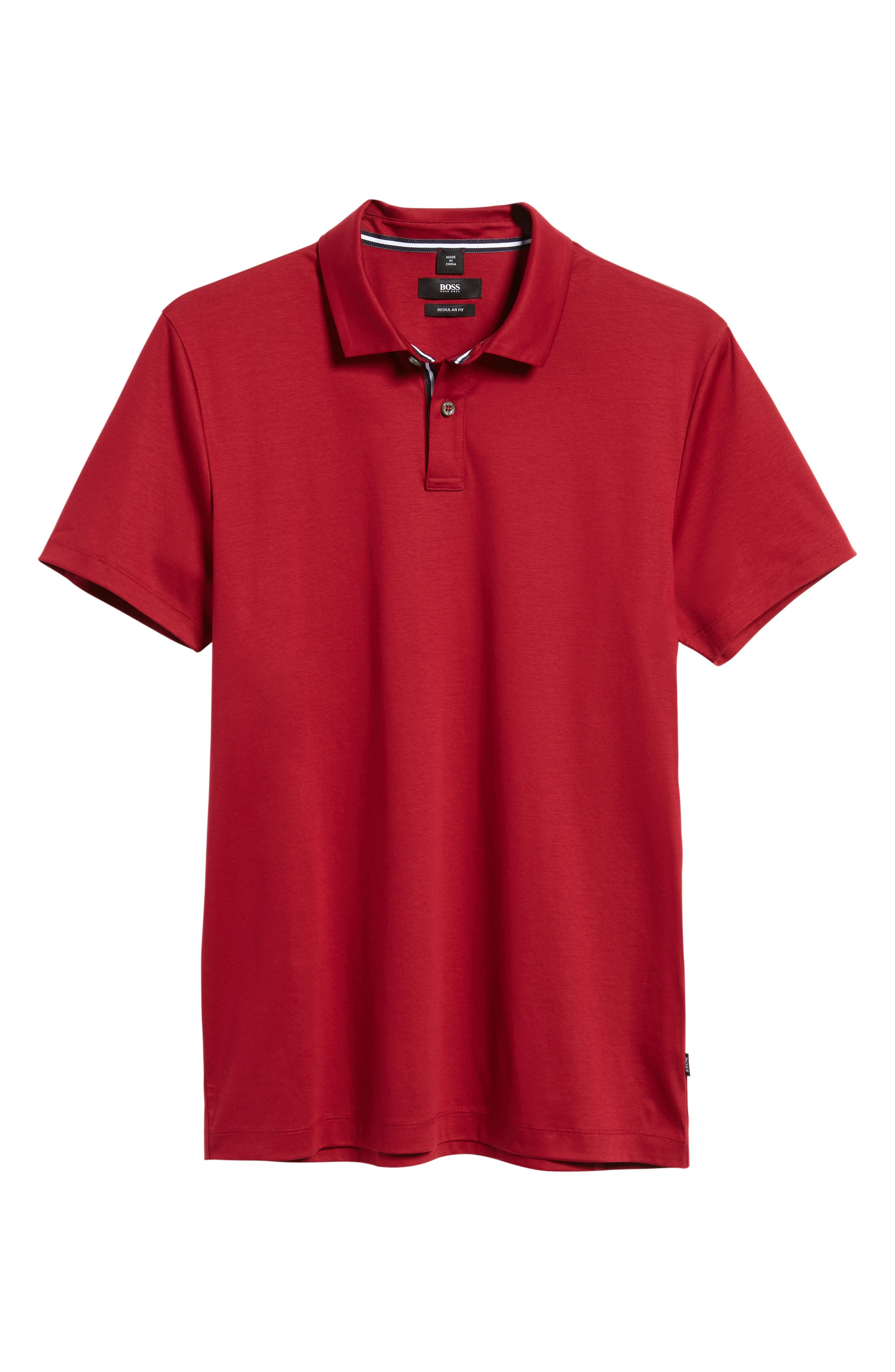 Alternate Image 5  - BOSS Press 21 Solid Regular Fit Polo