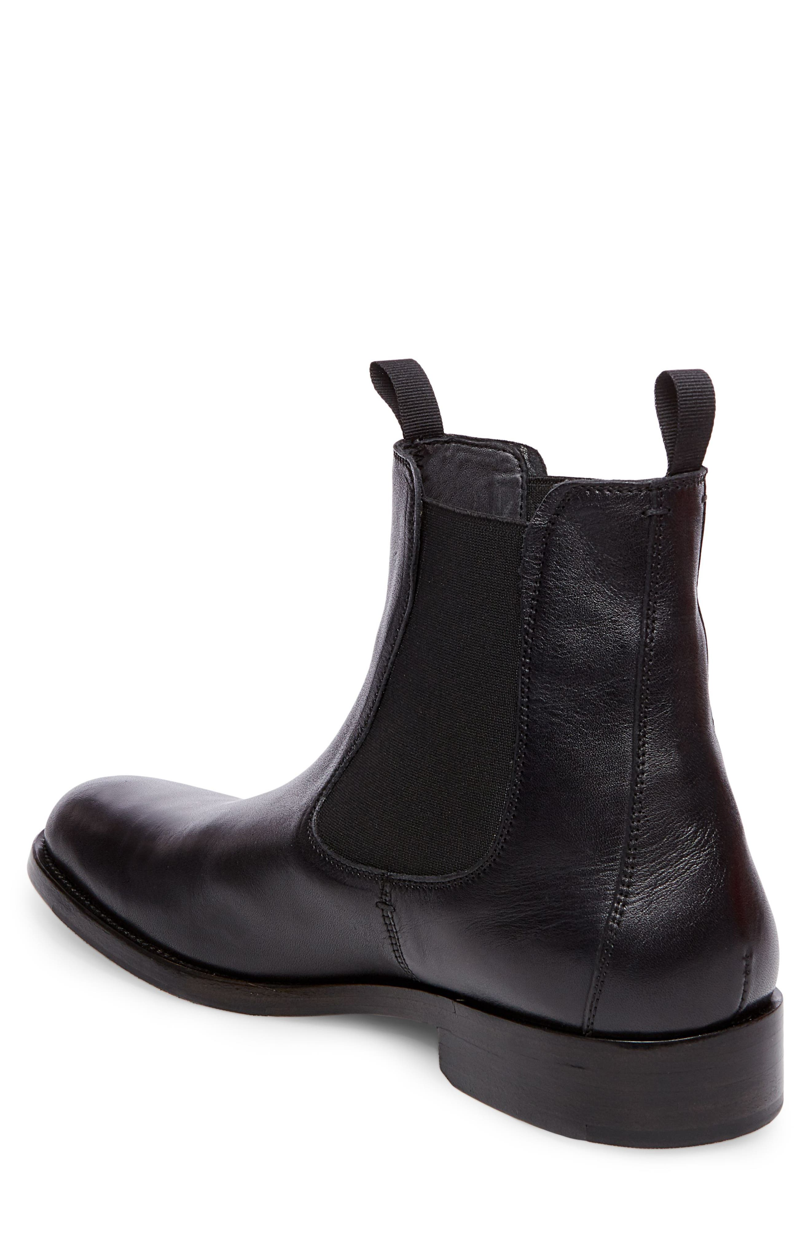 x GQ Nick Chelsea Boot,                             Alternate thumbnail 2, color,                             Black Leather