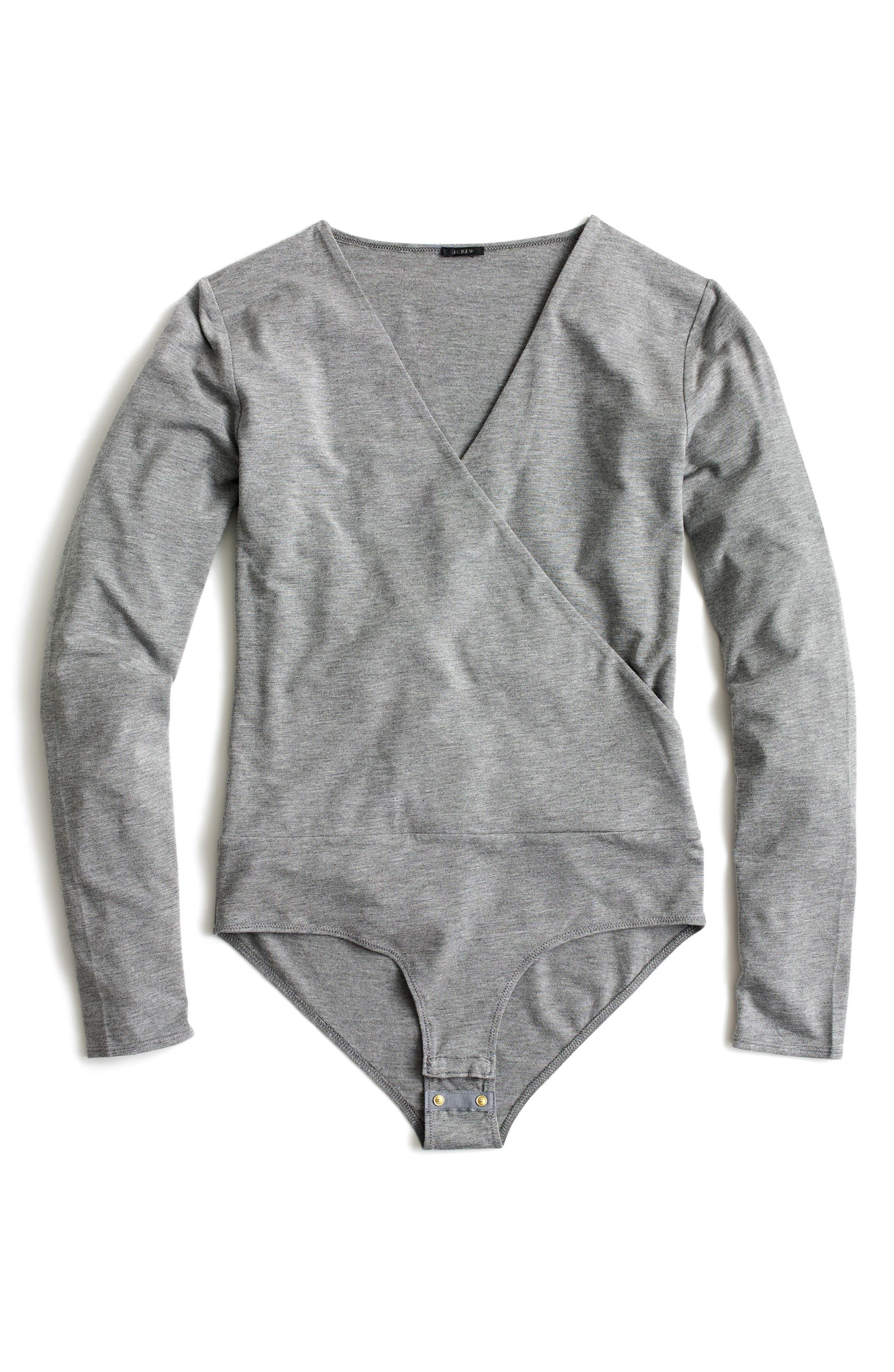 J.Crew Wrap Bodysuit