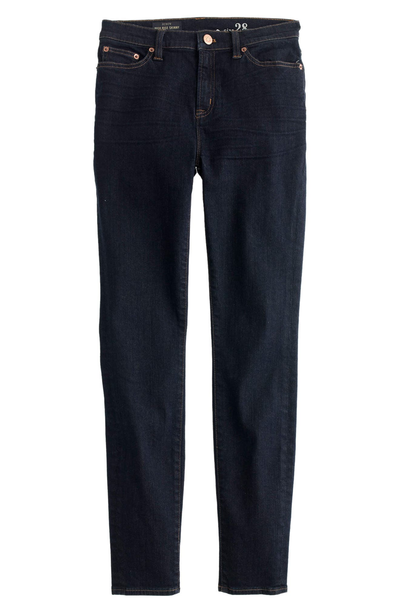 Alternate Image 3  - J.Crew Lookout High Rise Jeans (Resin) (Regular & Petite)