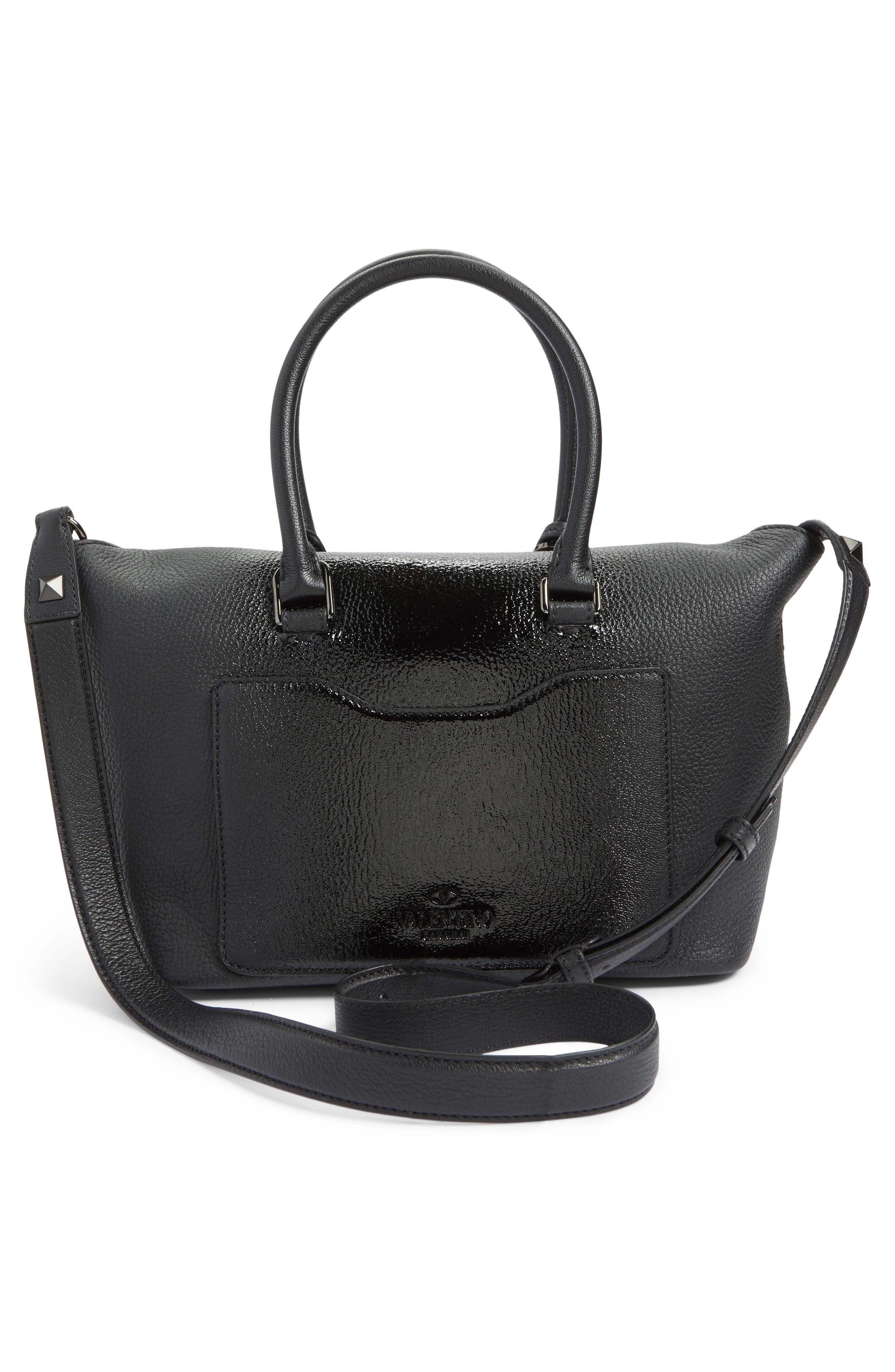 Alternate Image 2  - VALENTINO GARAVANI Demilune Top Handle Leather Satchel